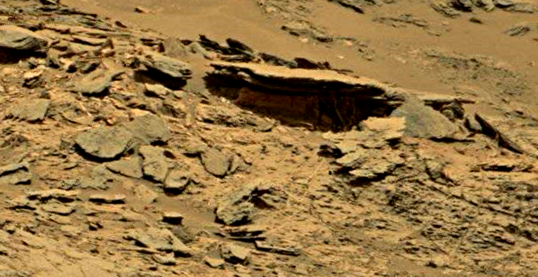 mars sol 1353 anomaly-artifacts 71 was life on mars