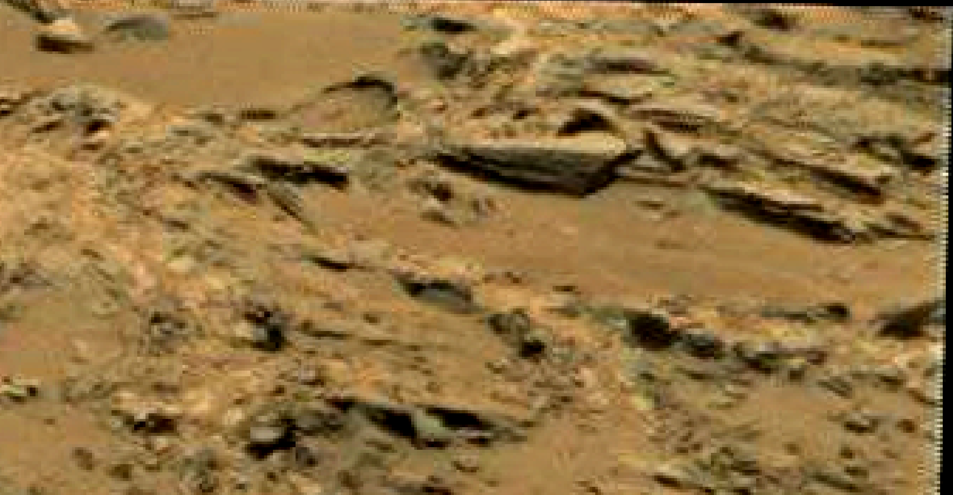 mars sol 1353 anomaly-artifacts 73 was life on mars