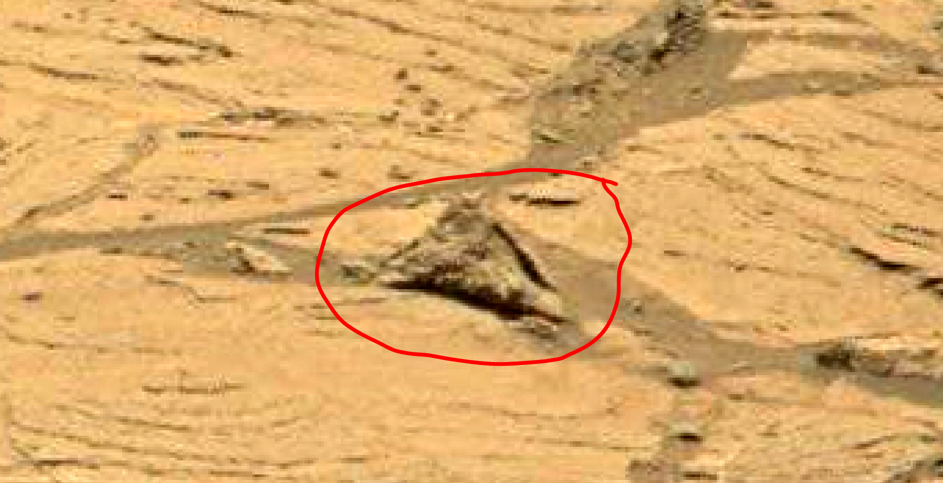 mars sol 1353 anomaly-artifacts 7a was life on mars