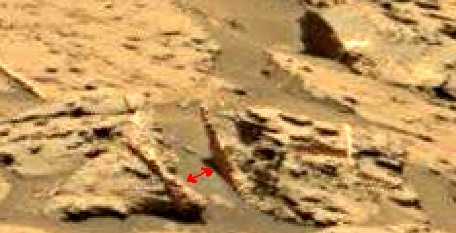 mars sol 1353 anomaly-artifacts 8 was life on mars