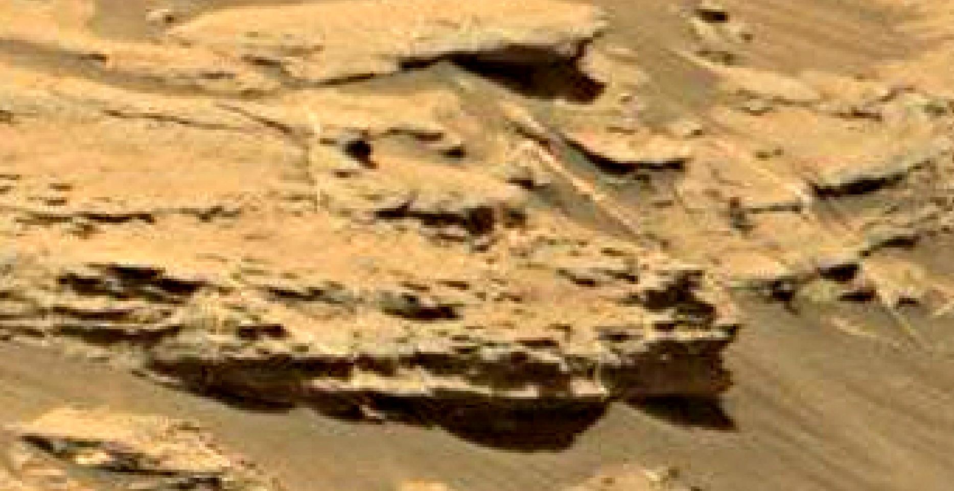 mars sol 1353 anomaly-artifacts 9e was life on mars