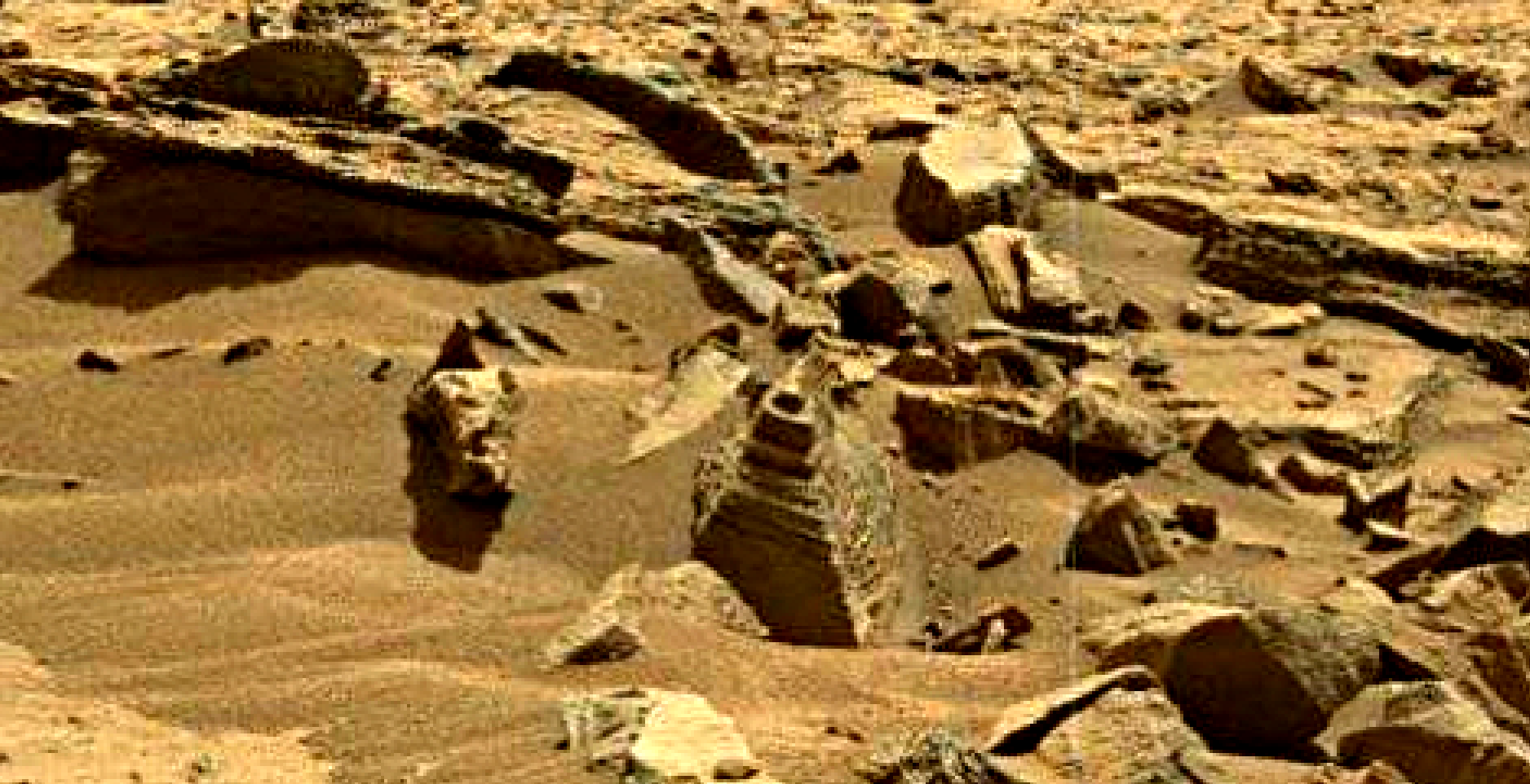 mars sol 1373 anomaly-artifacts 1 was life on mars