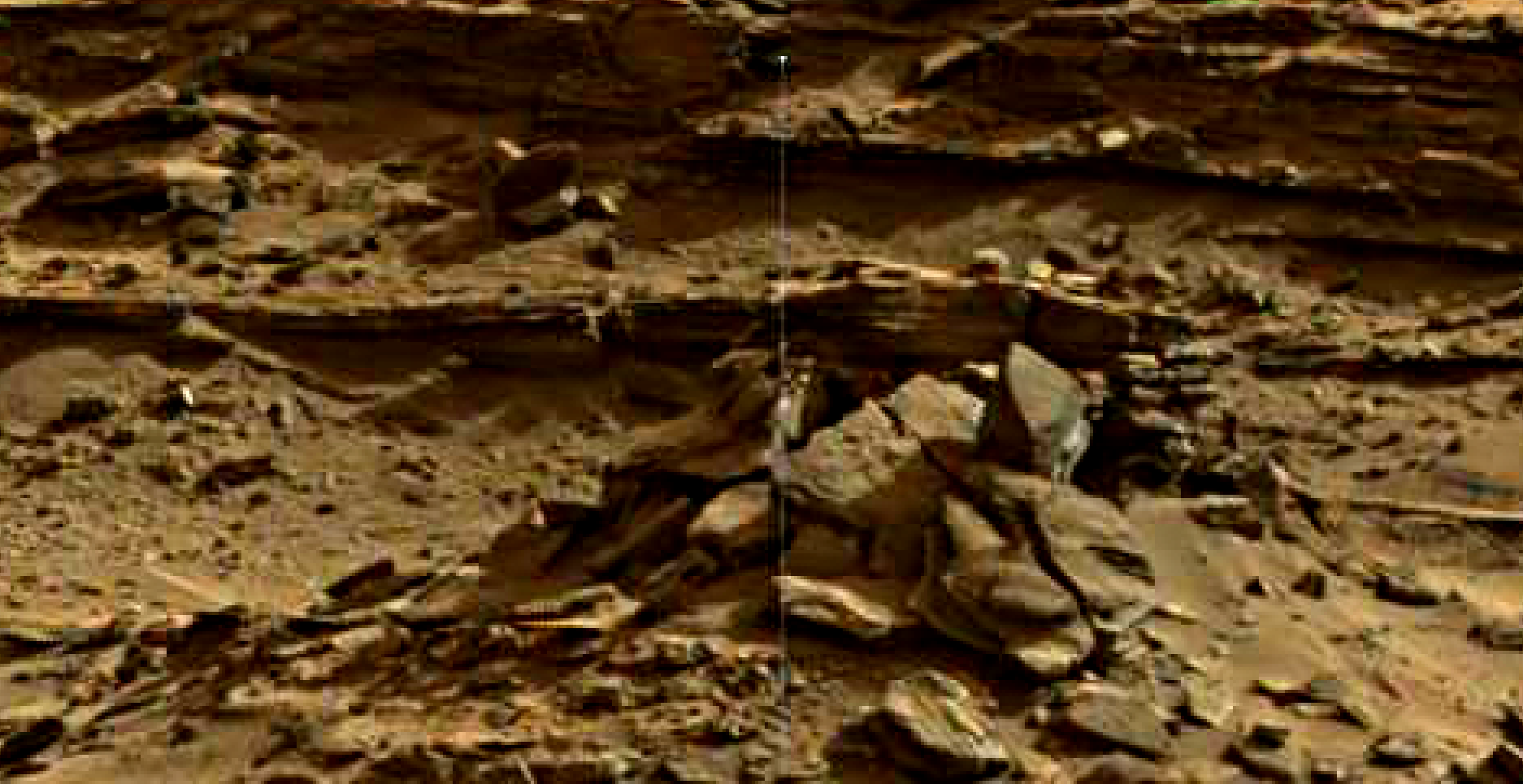 mars sol 1376 anomaly-artifacts 4 was life on mars