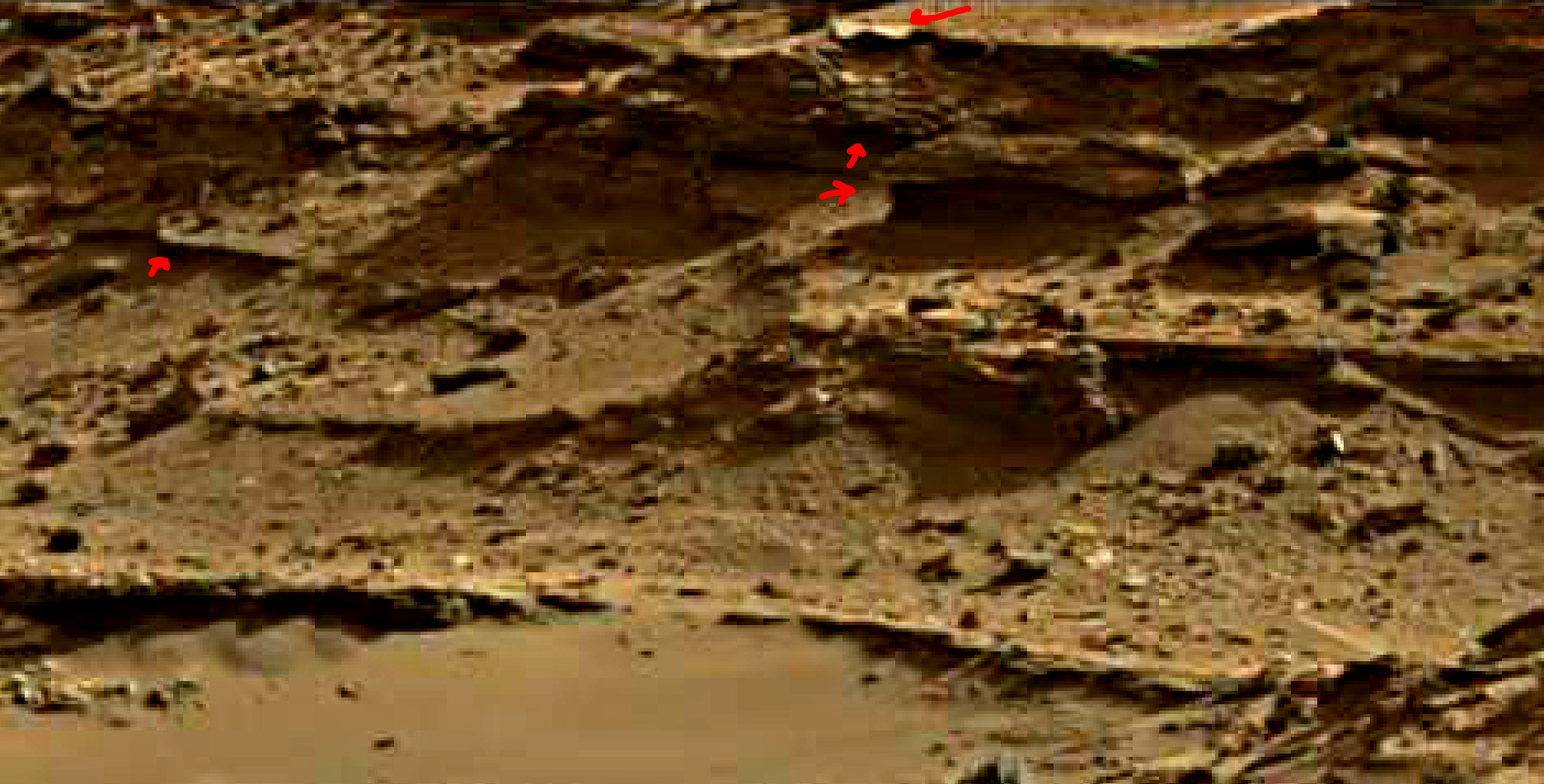 mars sol 1376 anomaly-artifacts 5a was life on mars