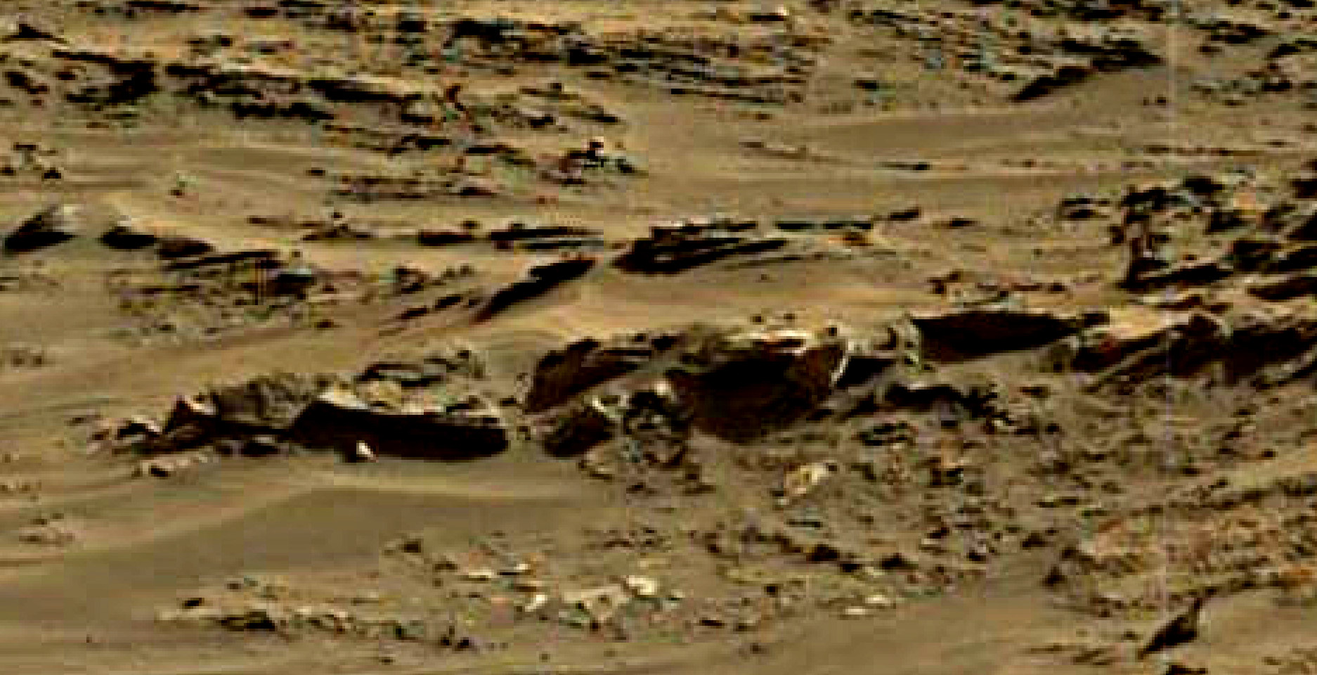 mars sol 1376 anomaly-artifacts 7 was life on mars