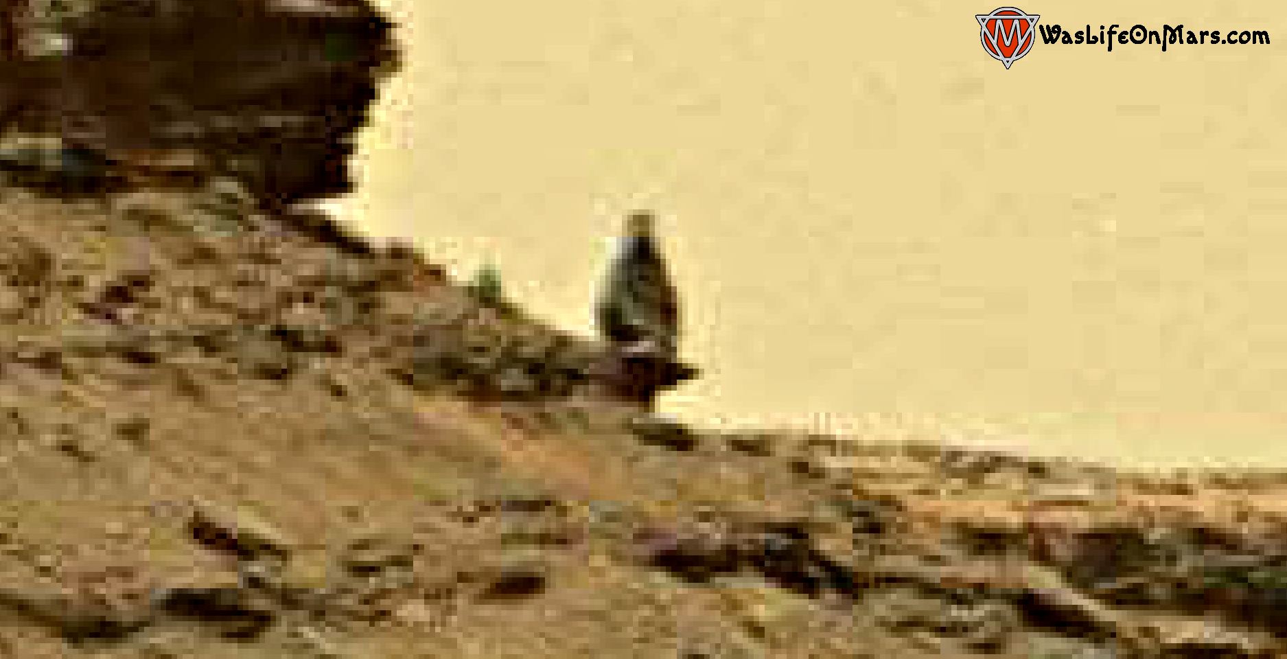 mars sol 1378 anomaly-artifacts 1 was life on mars