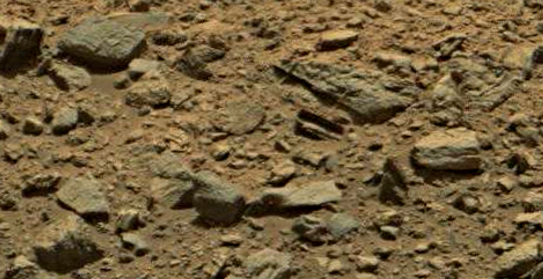 mars sol 1378 anomaly-artifacts 3 was life on mars