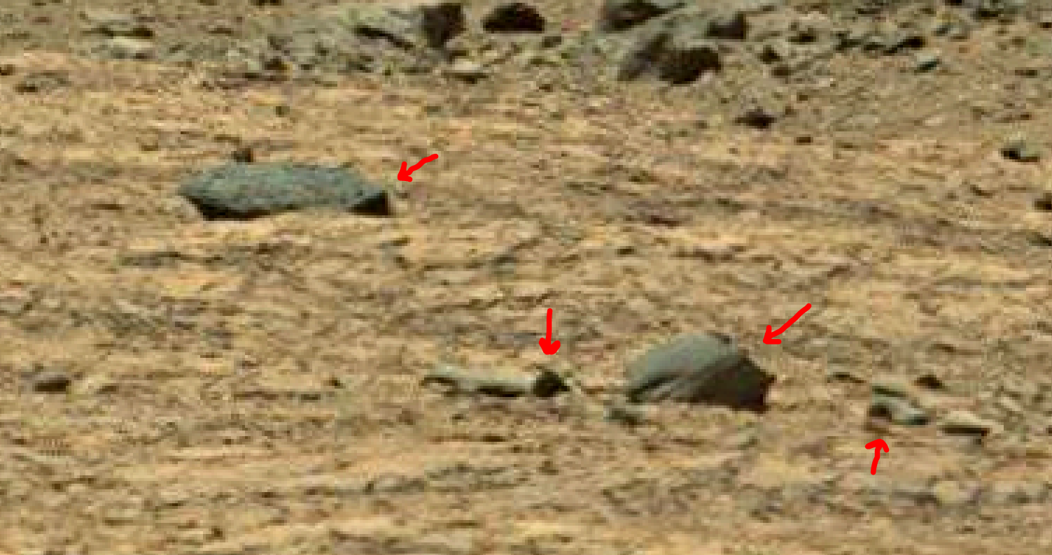mars sol 1378 anomaly-artifacts 5a was life on mars