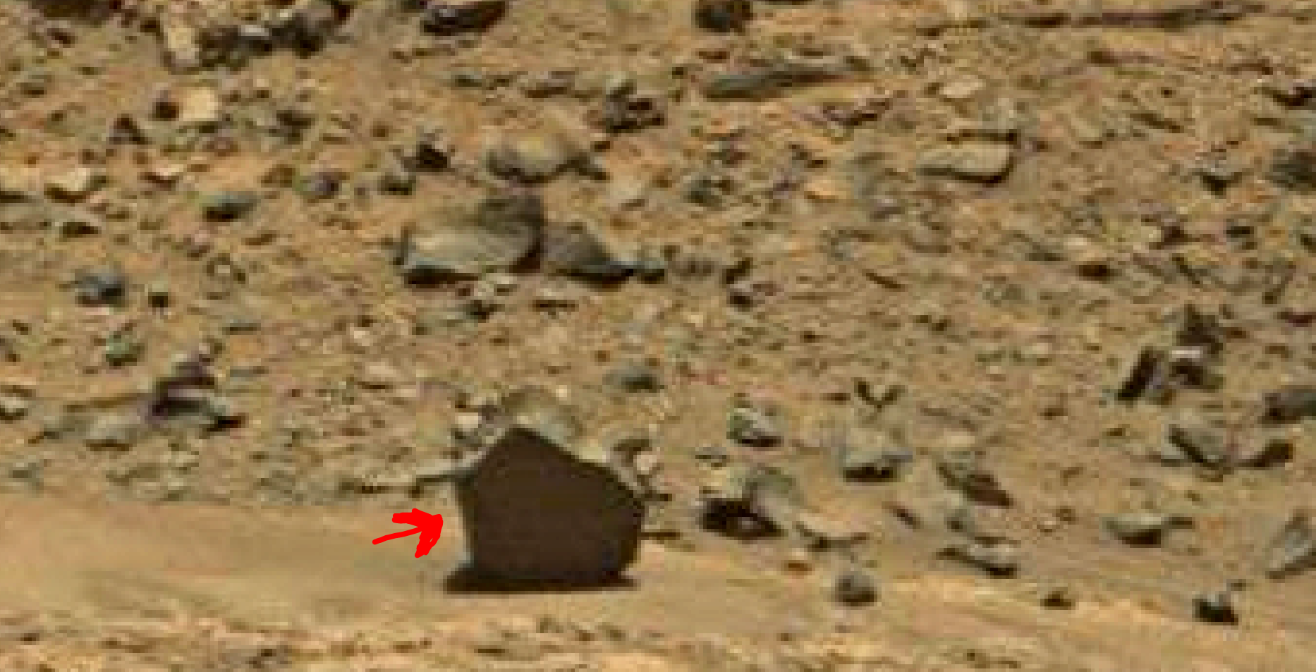 mars sol 1378 anomaly-artifacts 6 was life on mars
