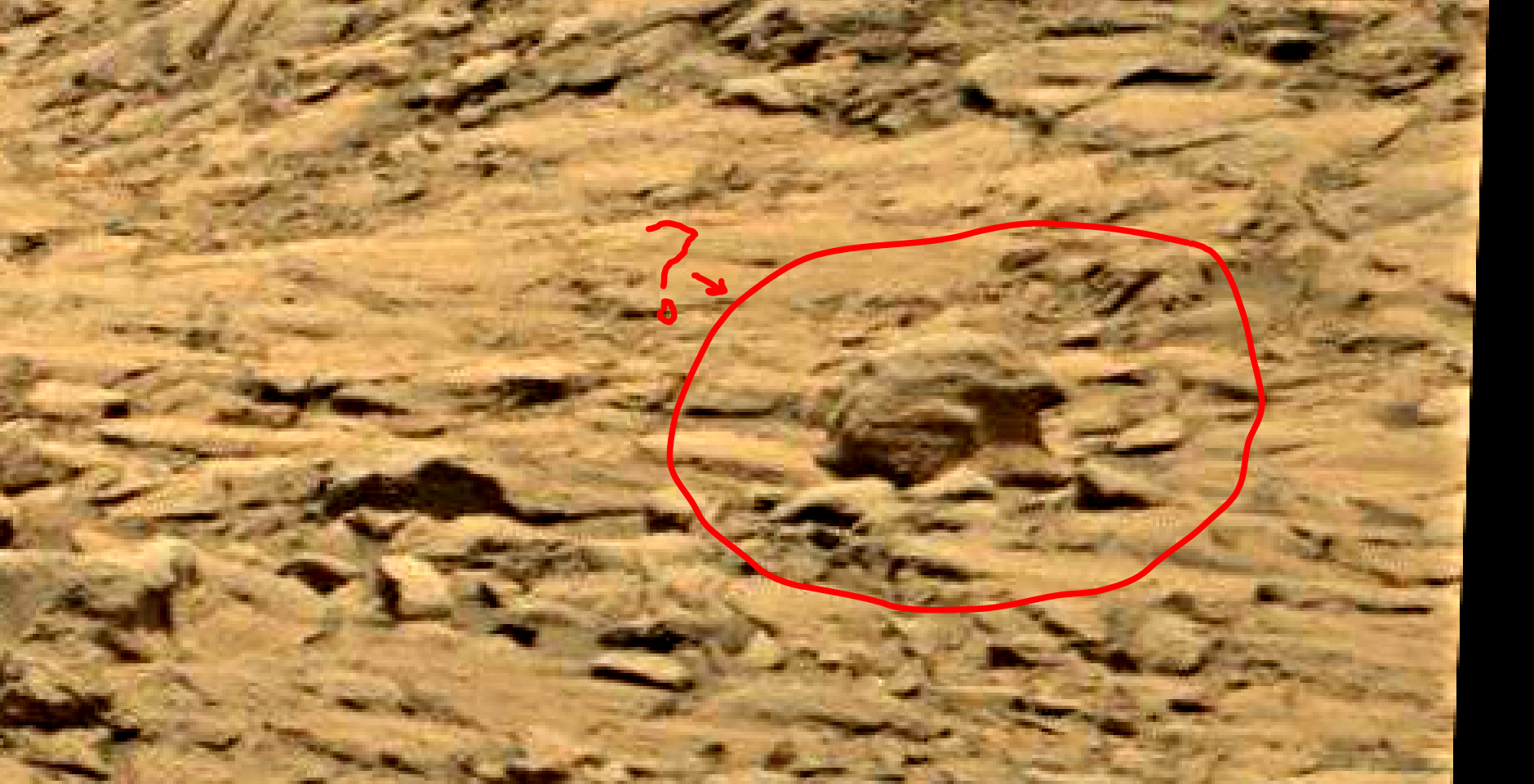 mars sol 1398 anomaly-artifacts 1 was life on mars