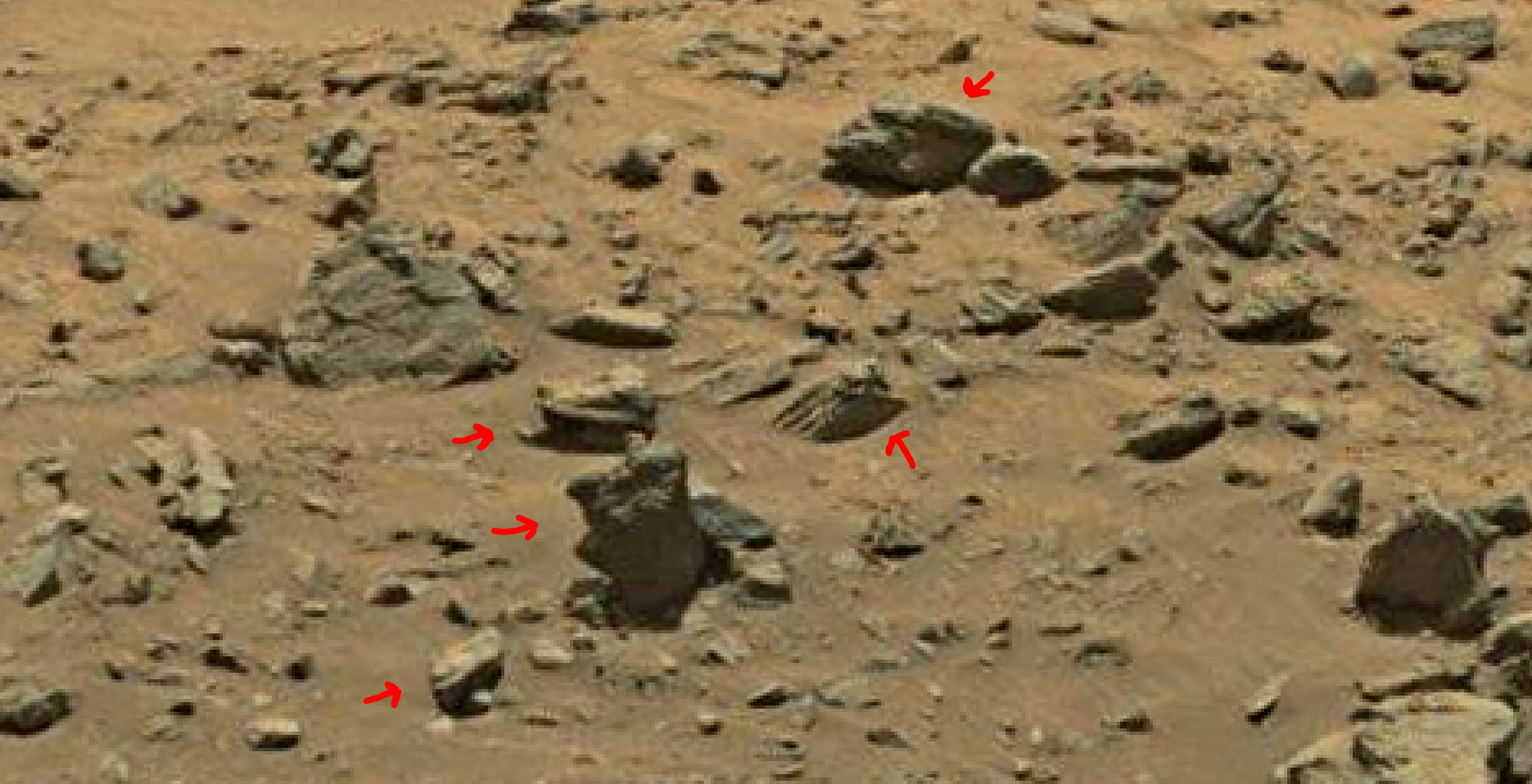 mars sol 1399 anomaly artifacts 1 was life on mars