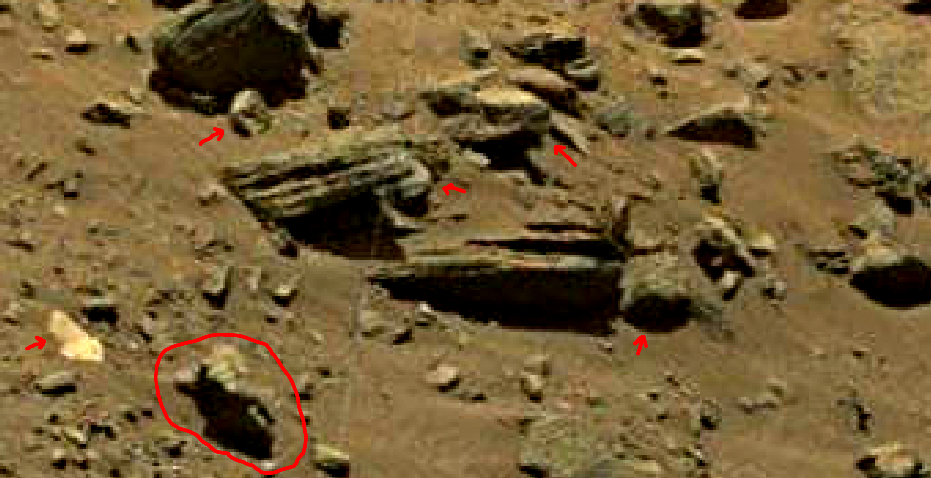 mars sol 1399 anomaly artifacts 10a was life on mars