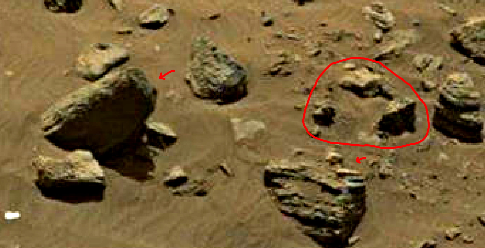 mars sol 1399 anomaly artifacts 11 was life on mars