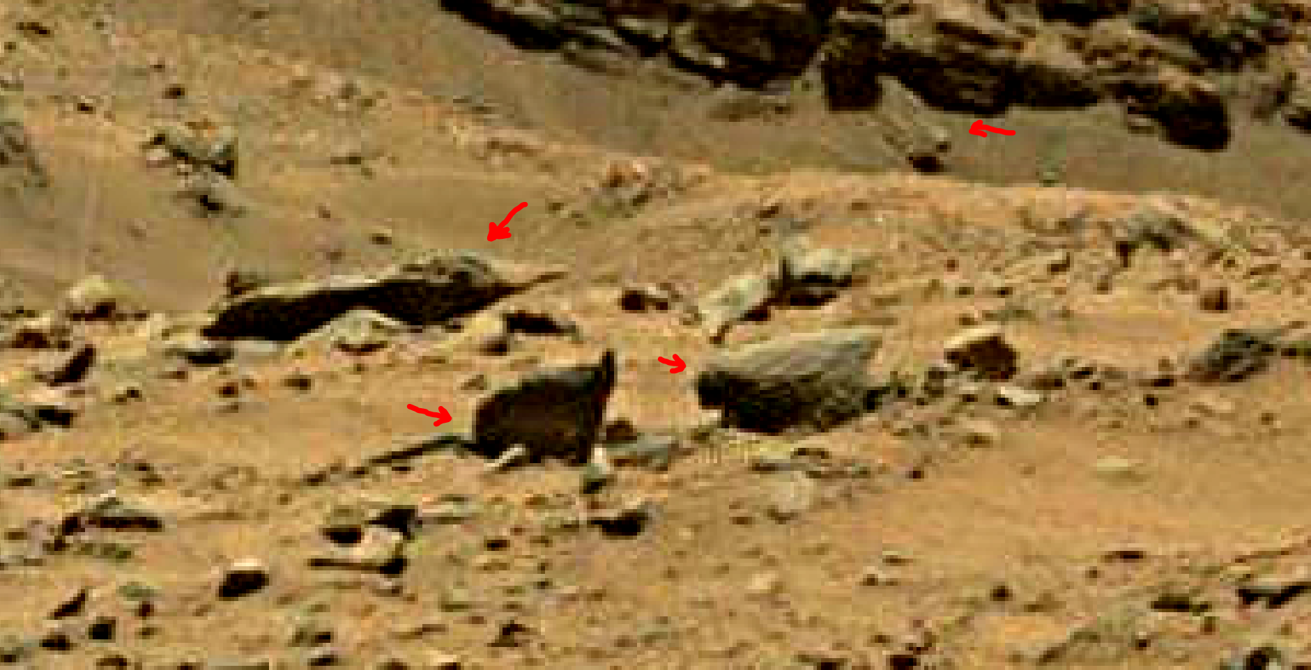 mars sol 1399 anomaly artifacts 12a was life on mars