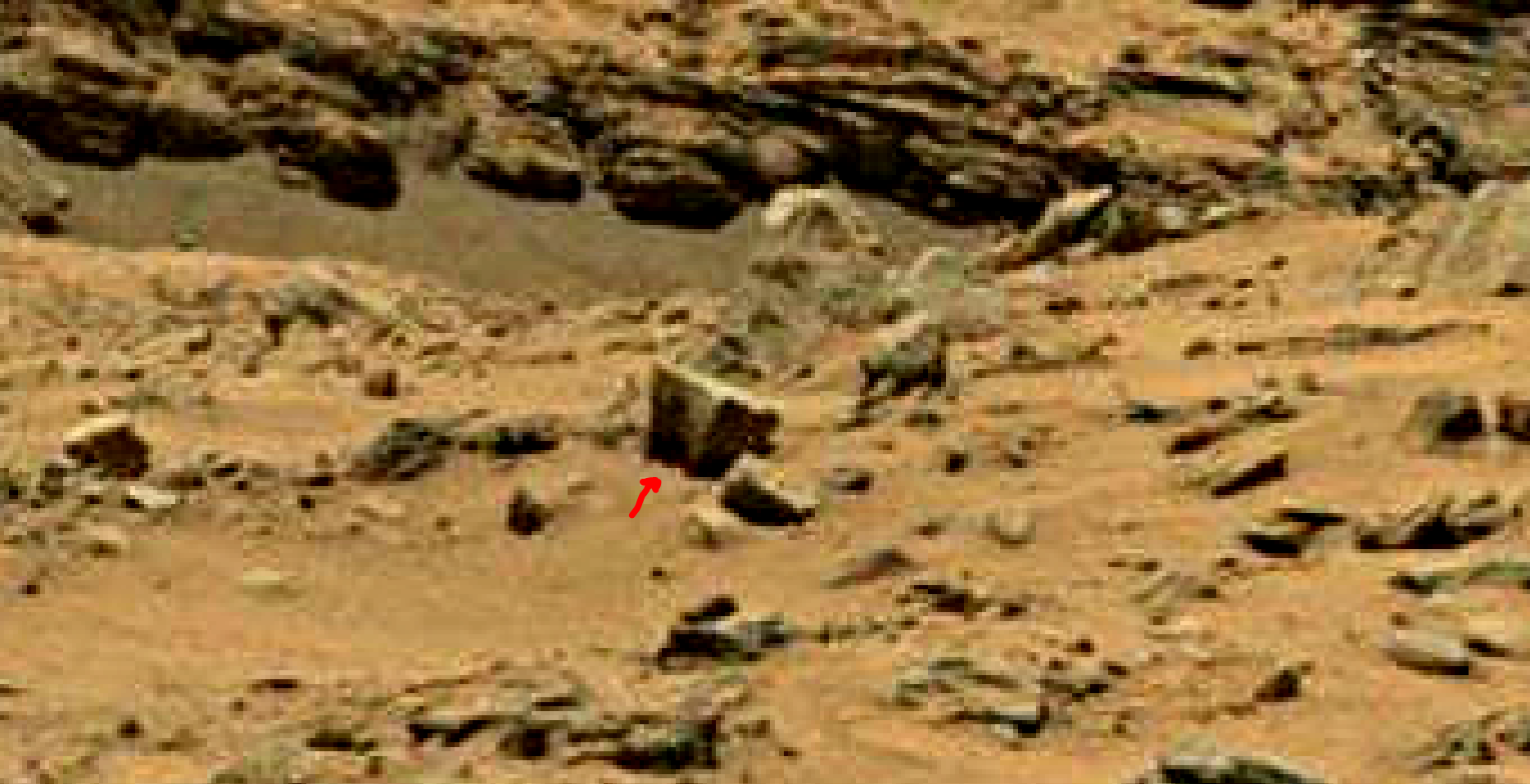 mars sol 1399 anomaly artifacts 13 was life on mars