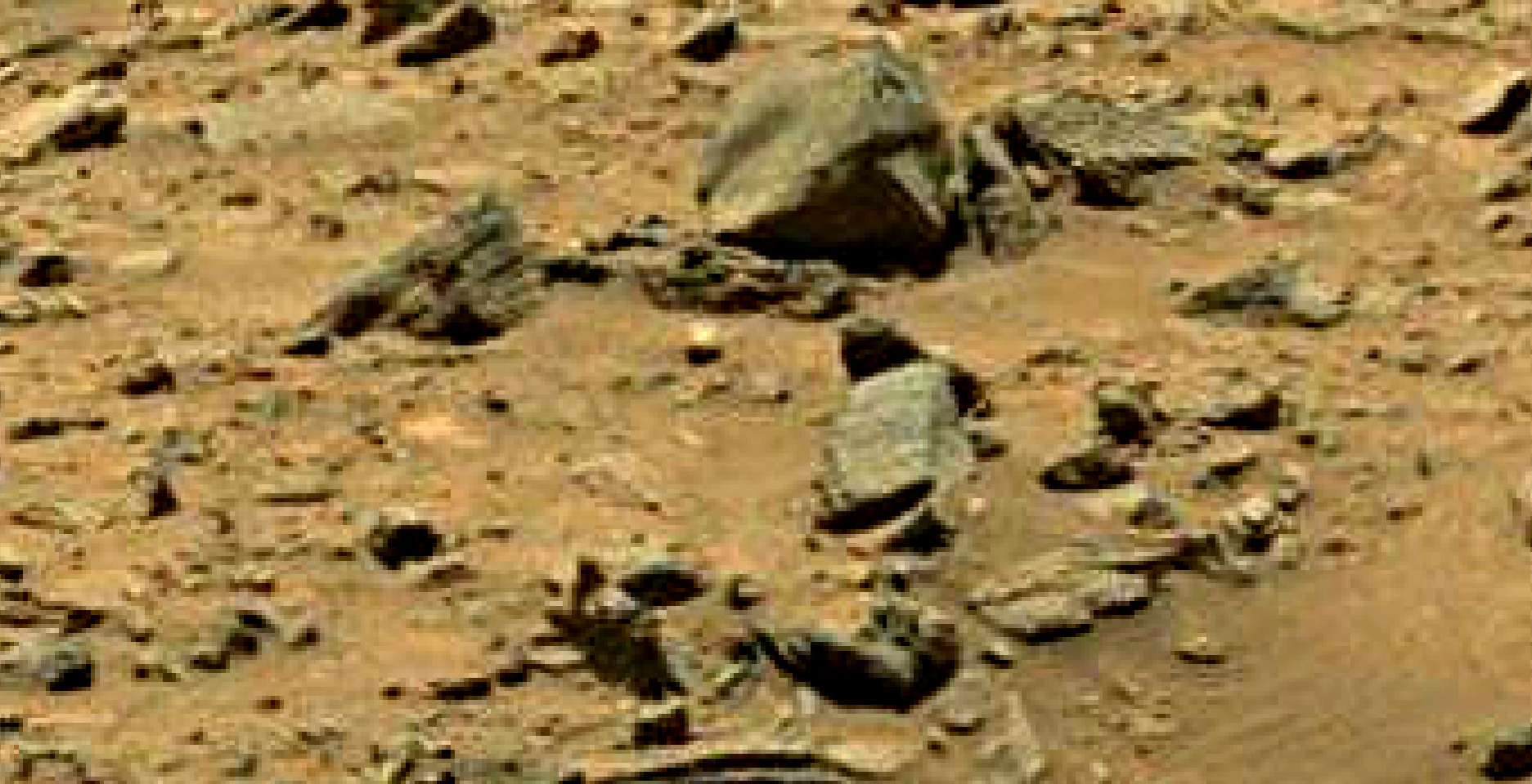 mars sol 1399 anomaly artifacts 14 was life on mars