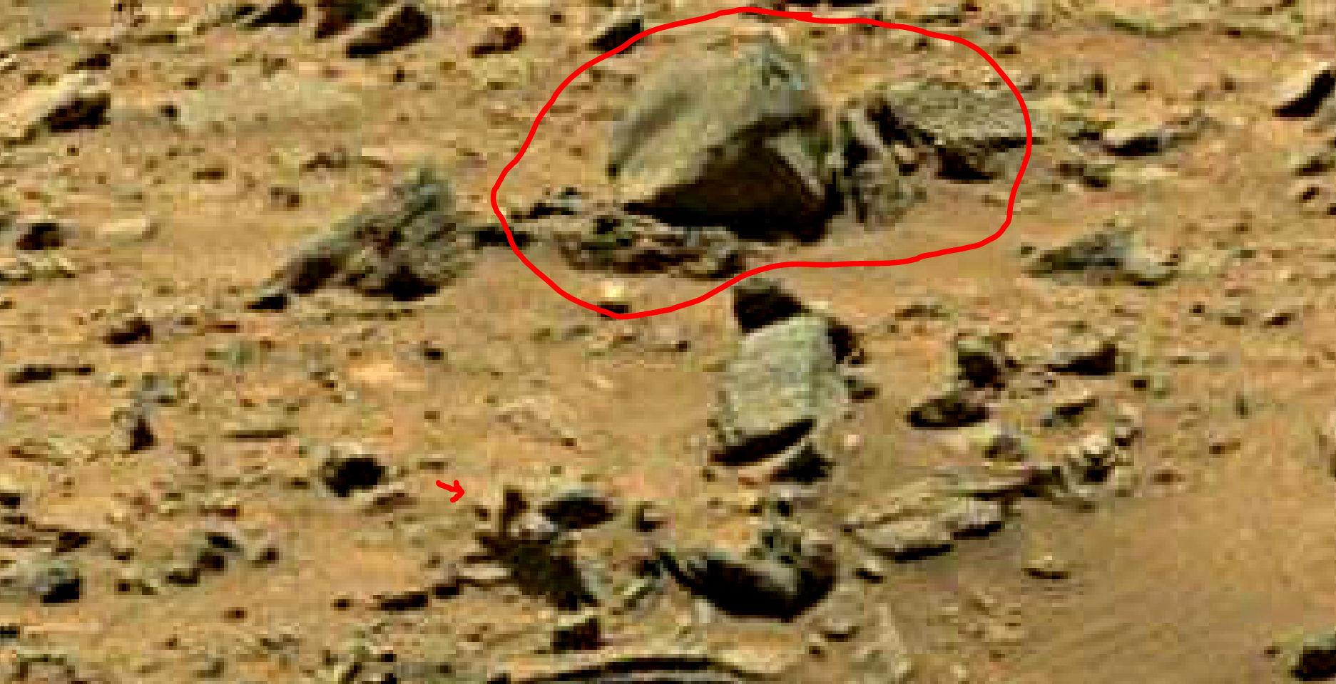 mars sol 1399 anomaly artifacts 14a was life on mars