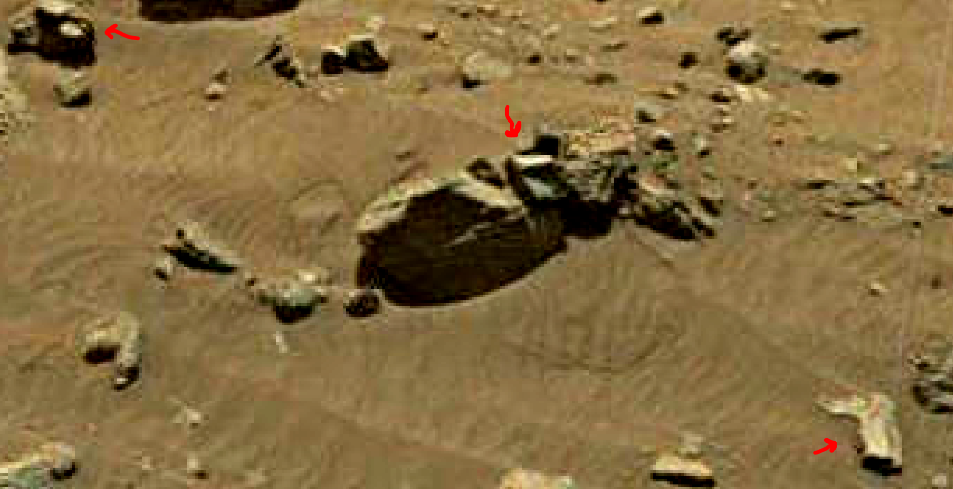 mars sol 1399 anomaly artifacts 15a was life on mars