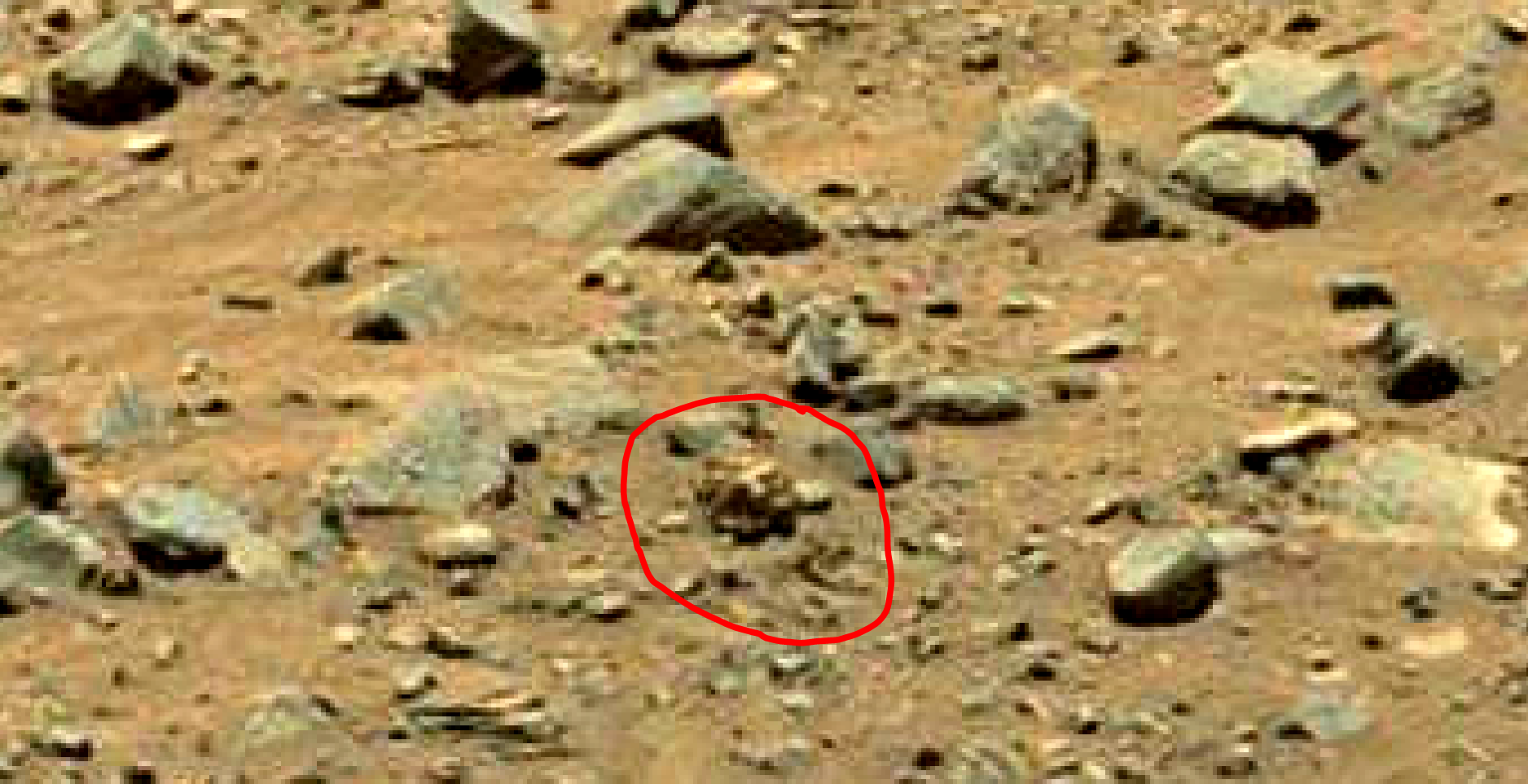 mars sol 1399 anomaly artifacts 16 was life on mars