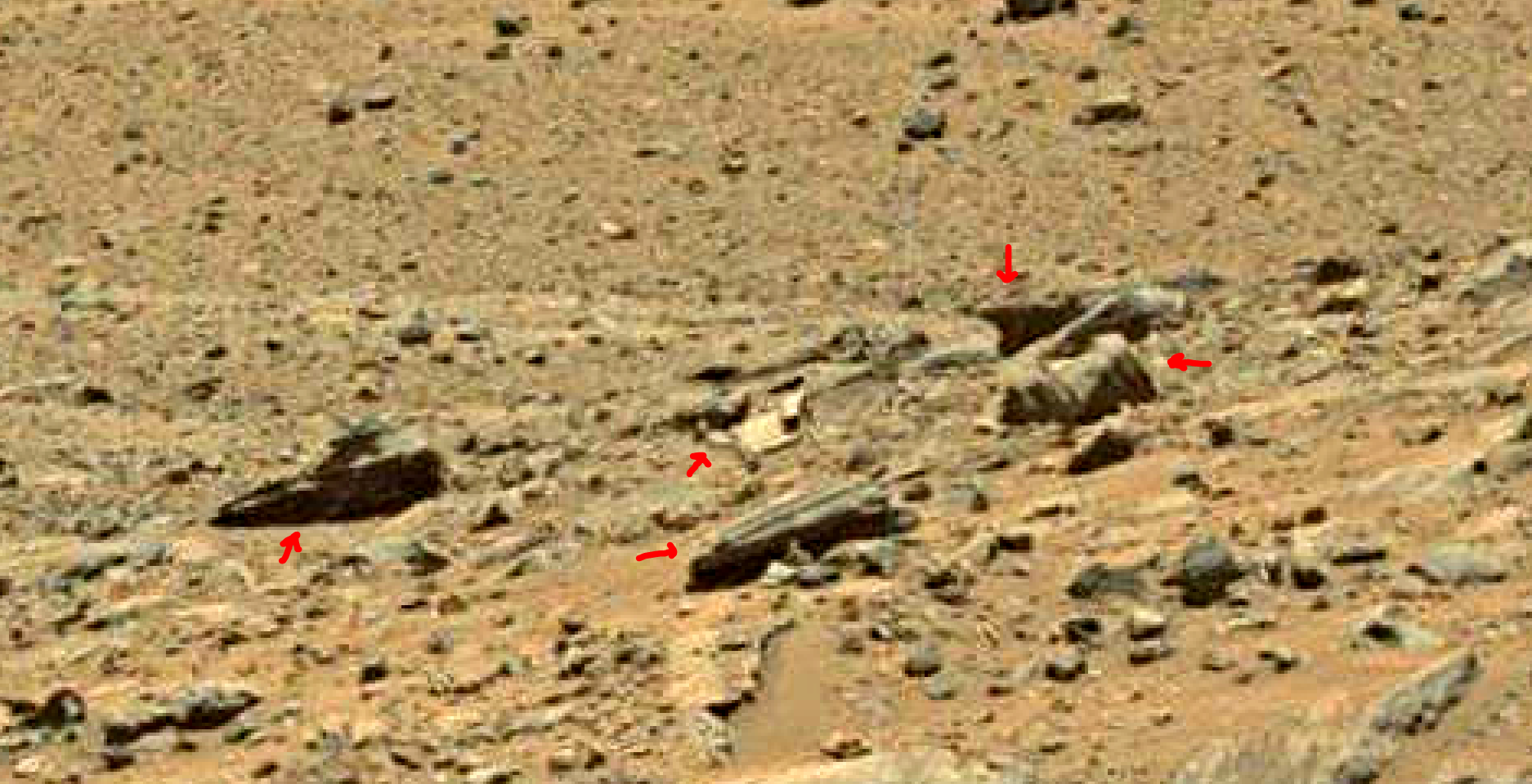 mars sol 1399 anomaly artifacts 17 was life on mars