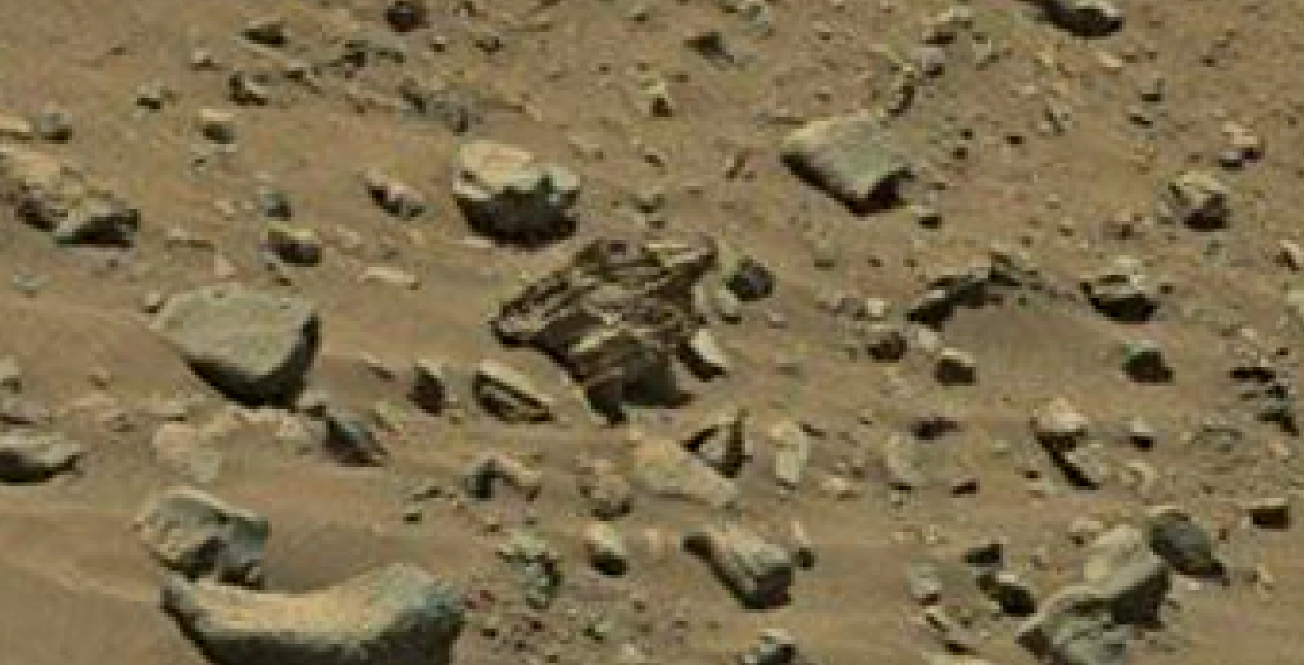 mars sol 1399 anomaly artifacts 2 was life on mars