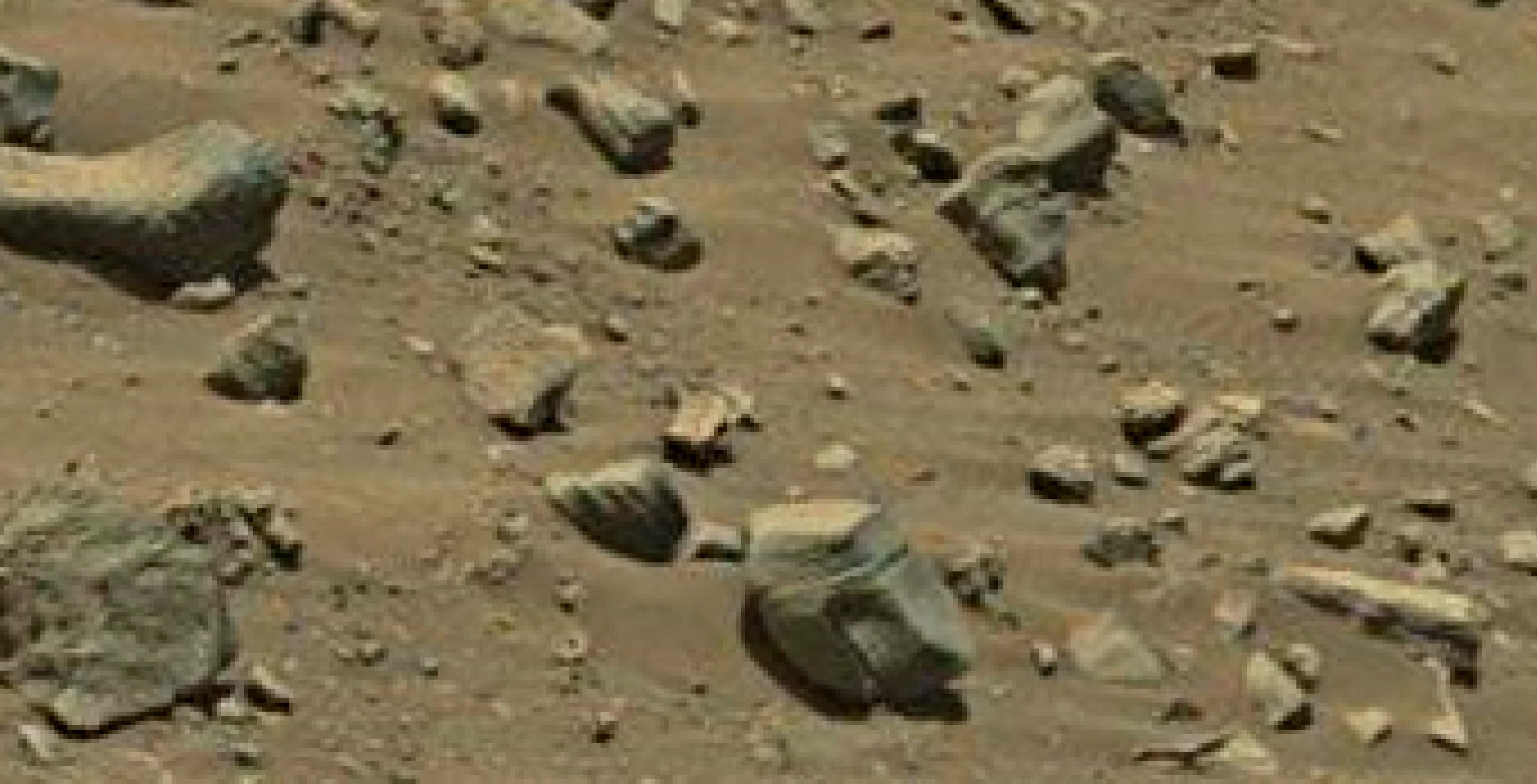 mars sol 1399 anomaly artifacts 3 was life on mars