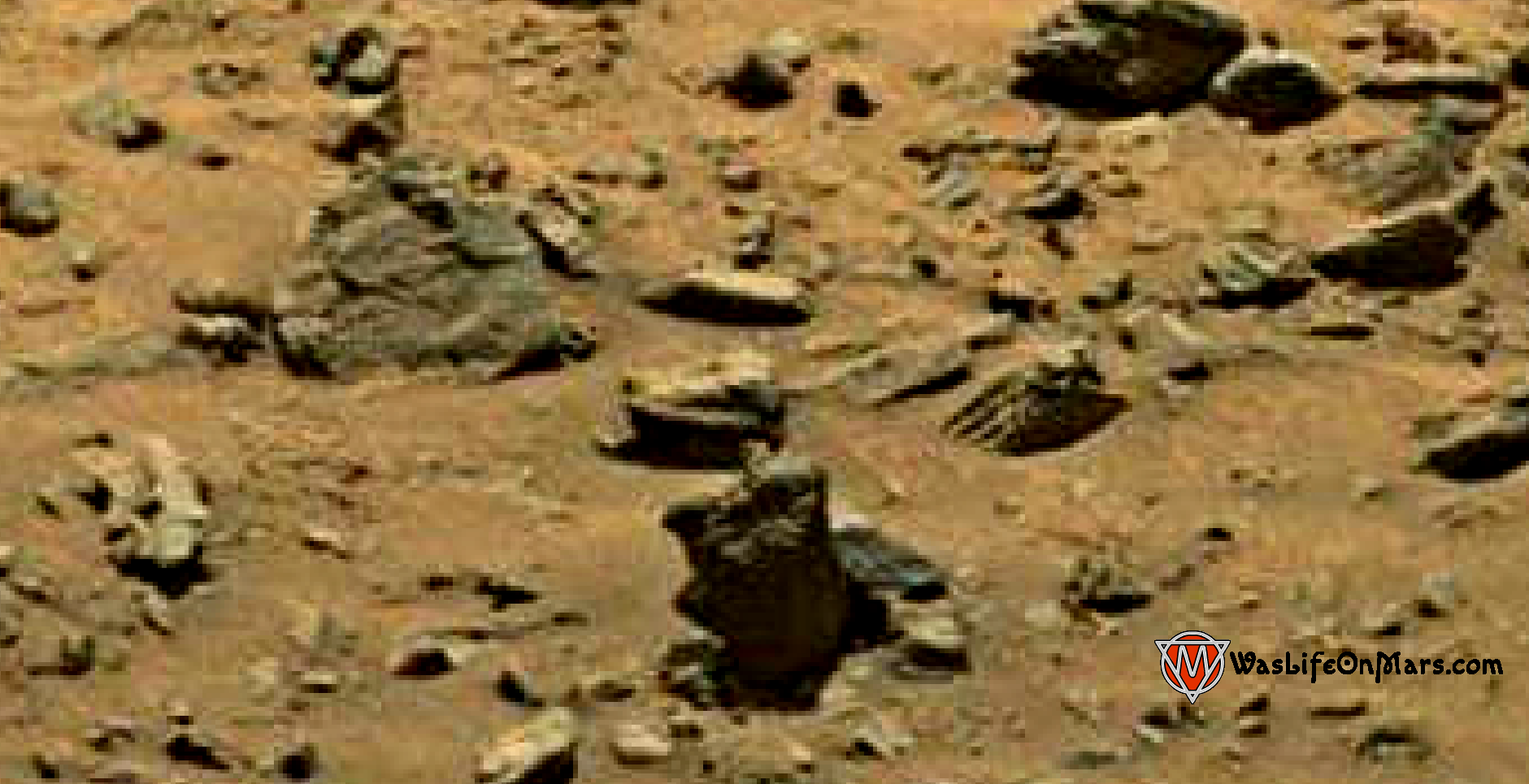 mars sol 1399 anomaly artifacts 4 was life on mars