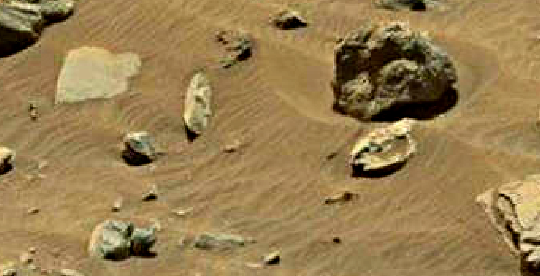 mars sol 1399 anomaly artifacts 6 was life on mars