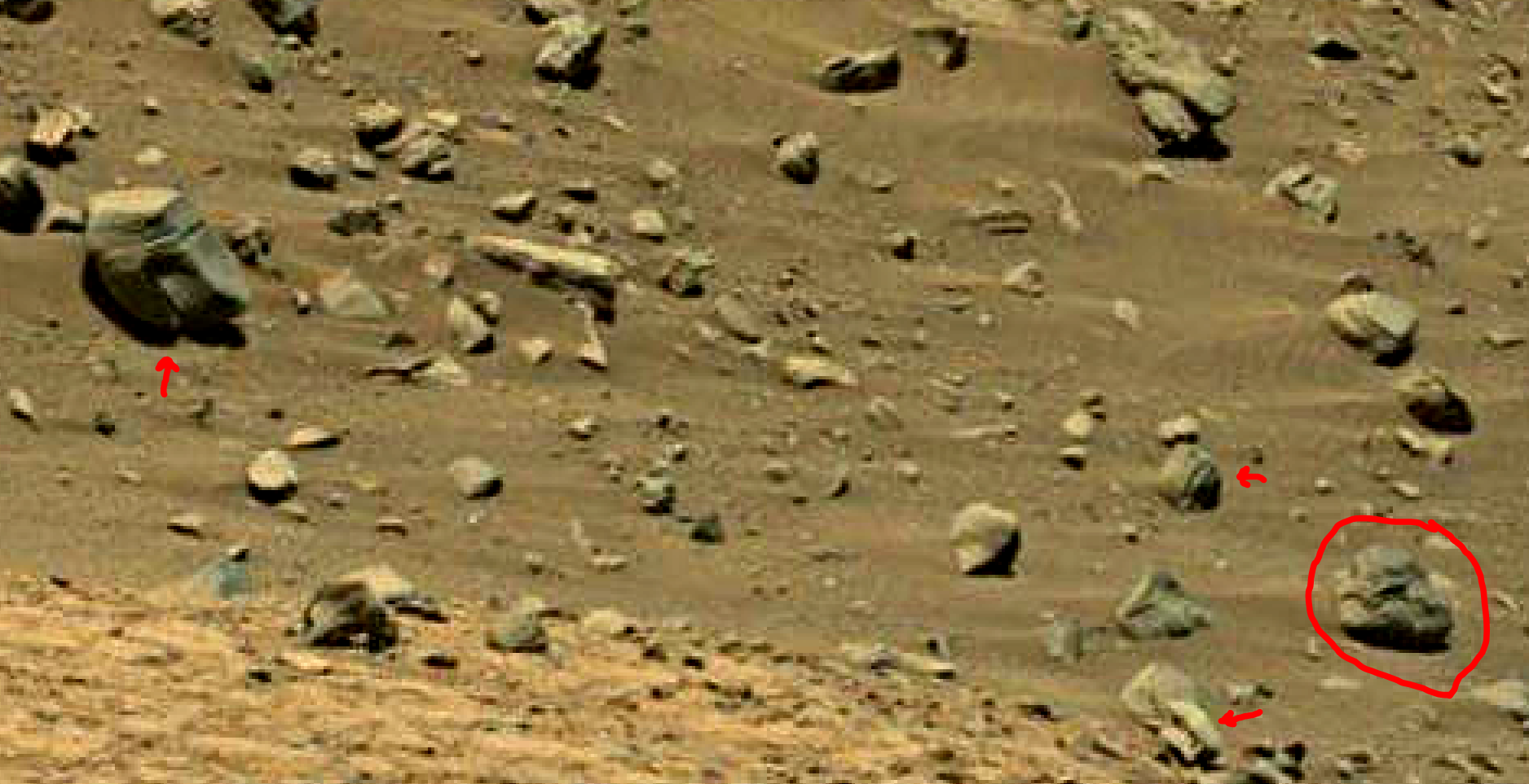 mars sol 1399 anomaly artifacts 8 was life on mars