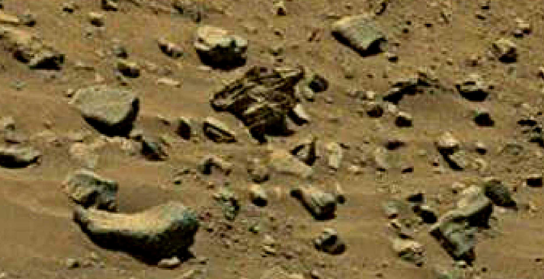 mars sol 1399 anomaly artifacts 9 was life on mars
