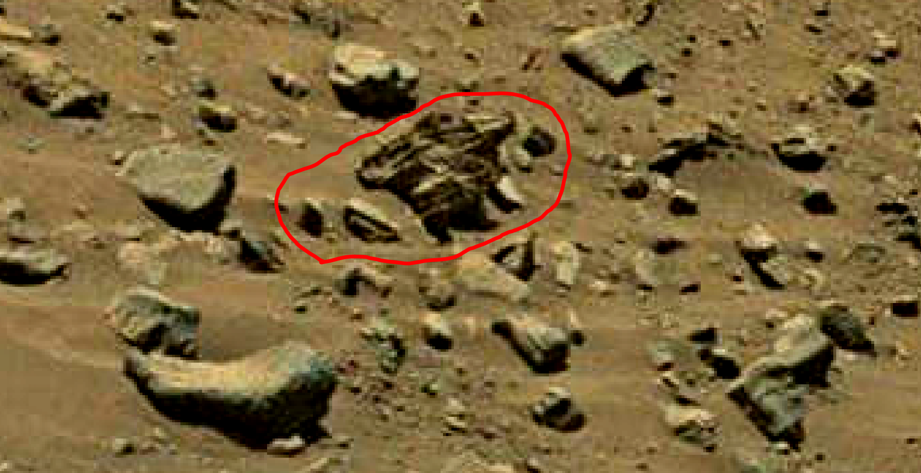 mars sol 1399 anomaly artifacts 9a was life on mars