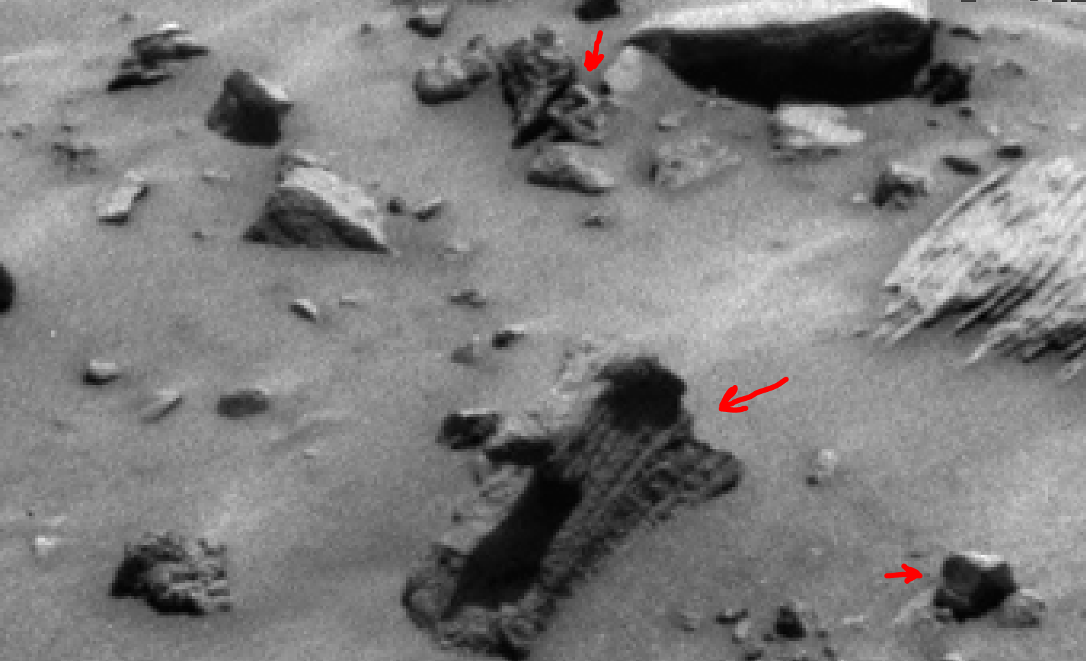 mars sol 1400 anomaly artifacts 3 was life on mars