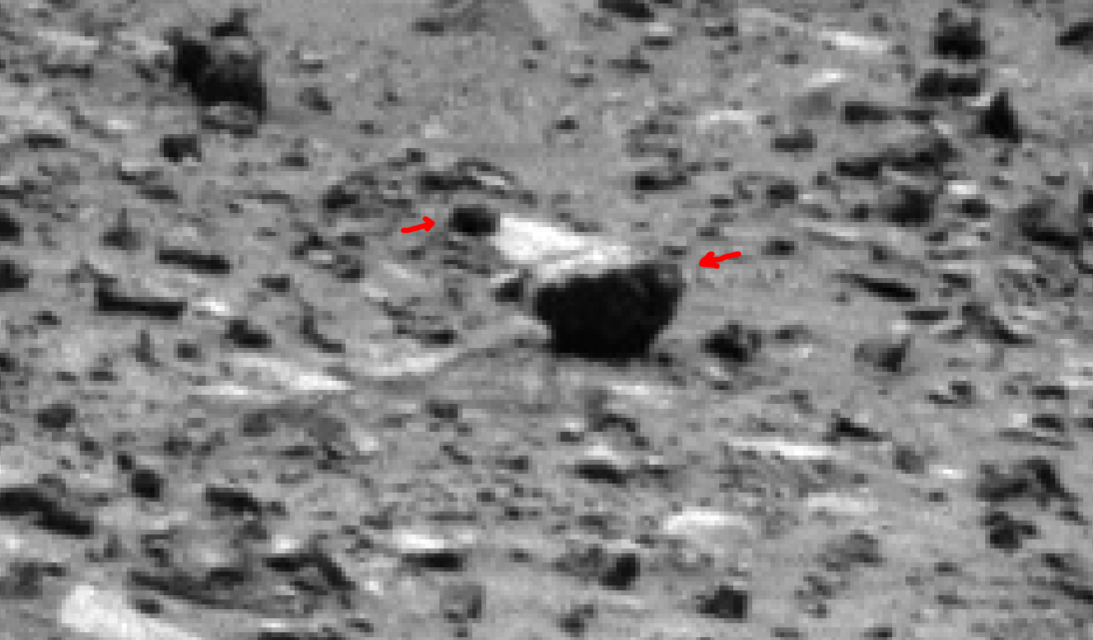 mars sol 1400 anomaly artifacts 4 was life on mars
