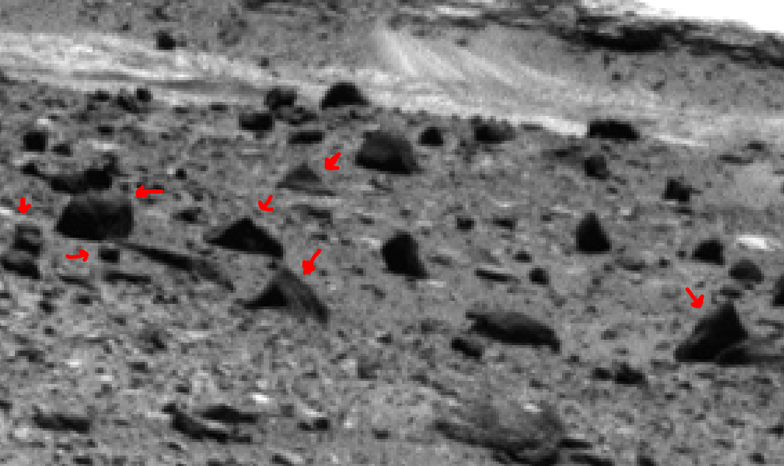 mars sol 1400 anomaly artifacts 6 was life on mars
