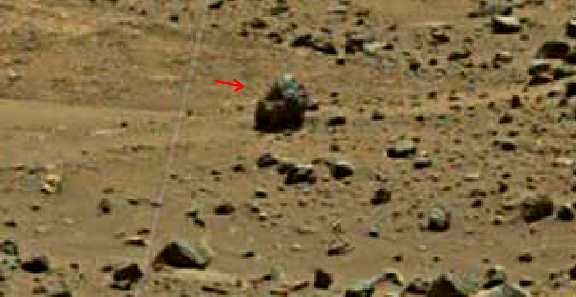 mars sol 1401 anomaly artifacts 10 was life on mars