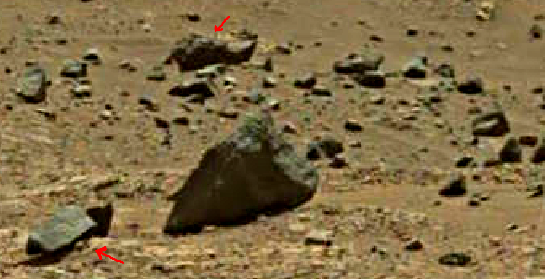 mars sol 1401 anomaly artifacts 11 was life on mars