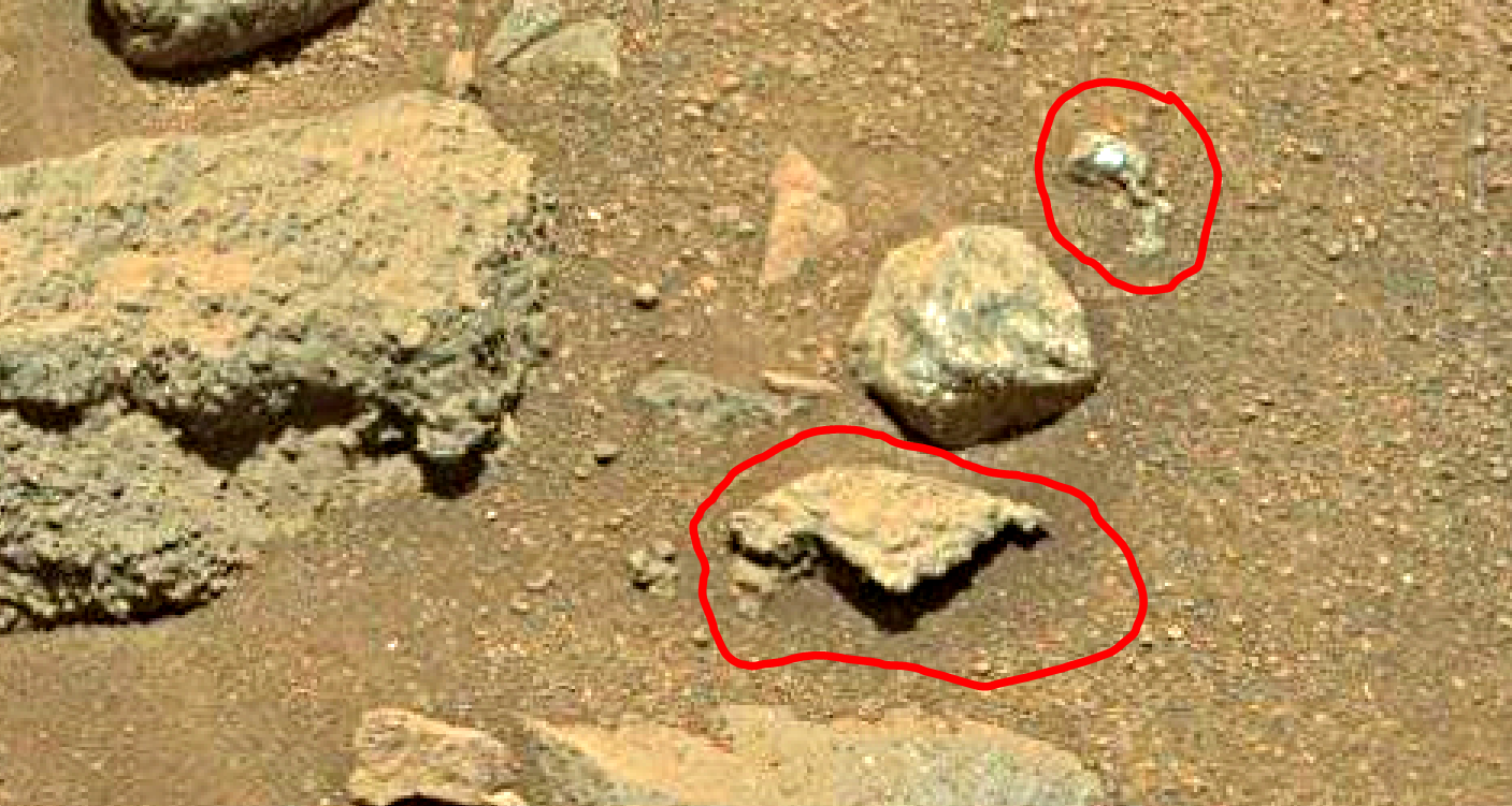 mars sol 1401 anomaly artifacts 3 was life on mars