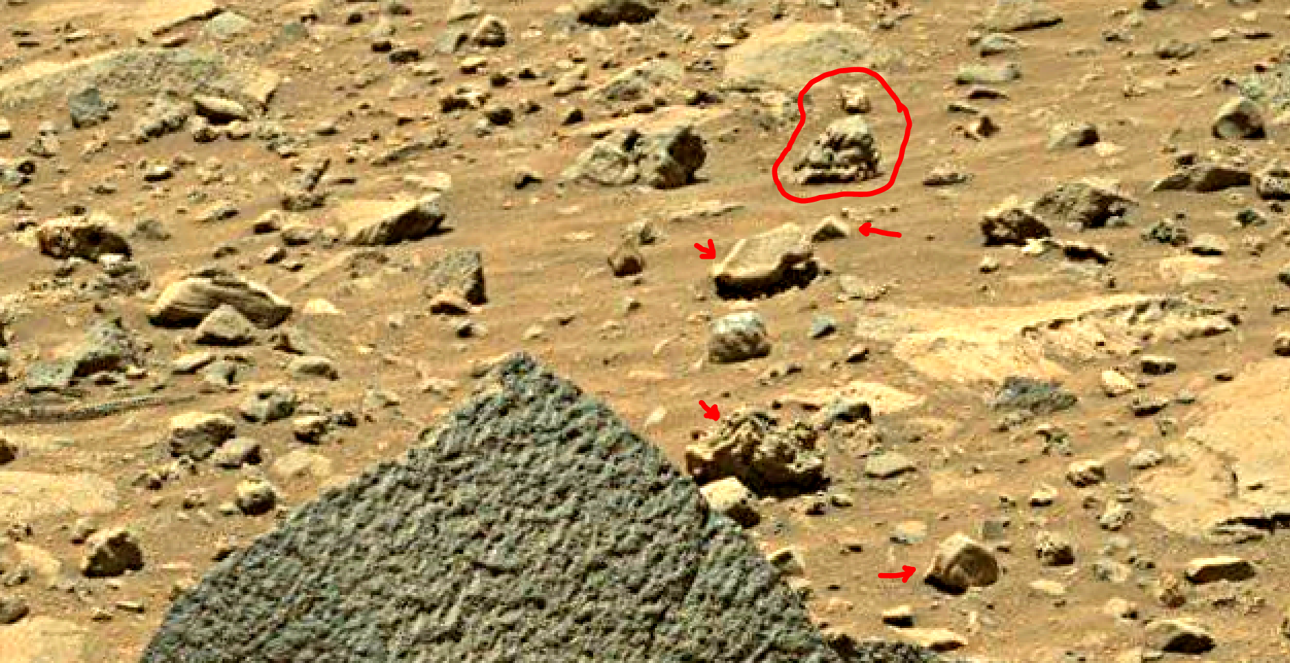 mars sol 1401 anomaly artifacts 5 was life on mars