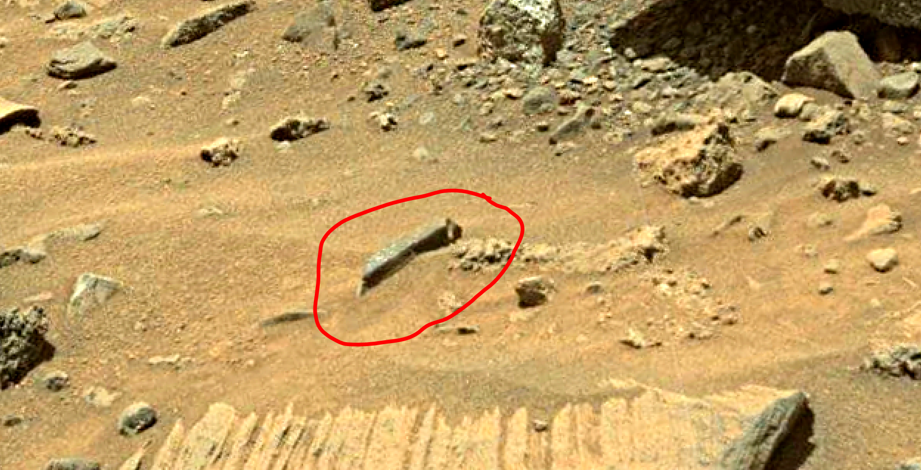 mars sol 1401 anomaly artifacts 6 was life on mars