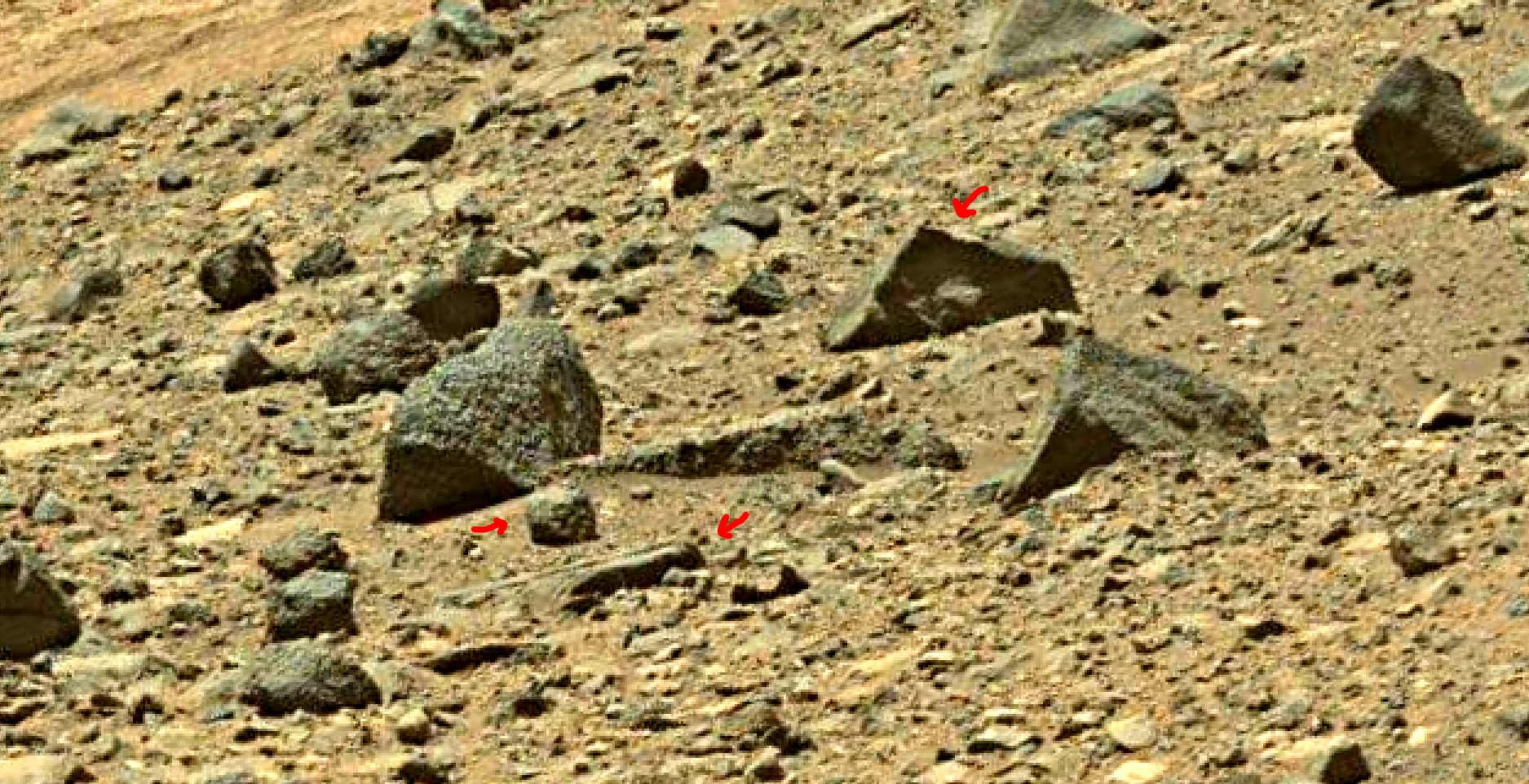 mars sol 1401 anomaly artifacts 7 was life on mars