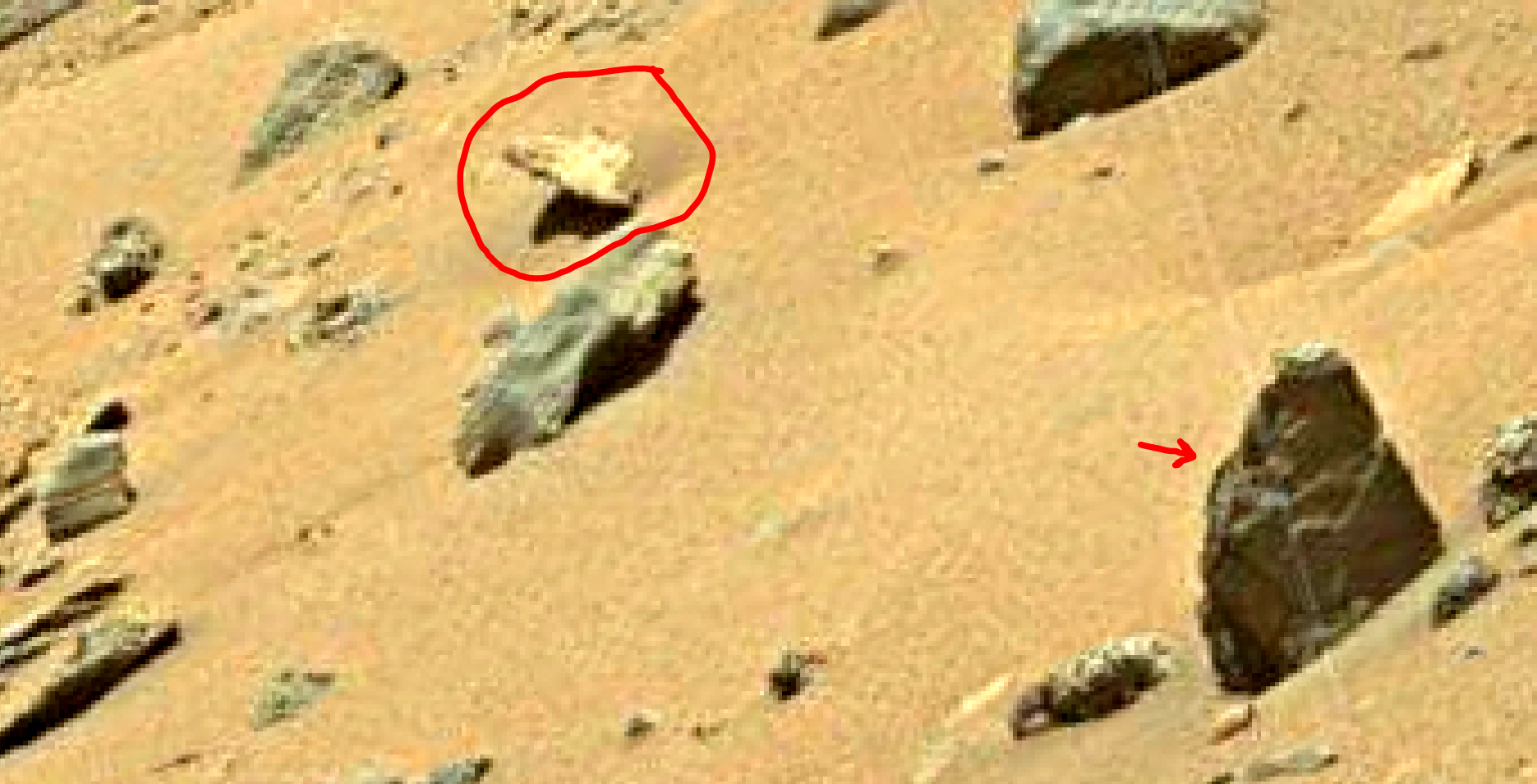 mars sol 1401 anomaly artifacts 8 was life on mars