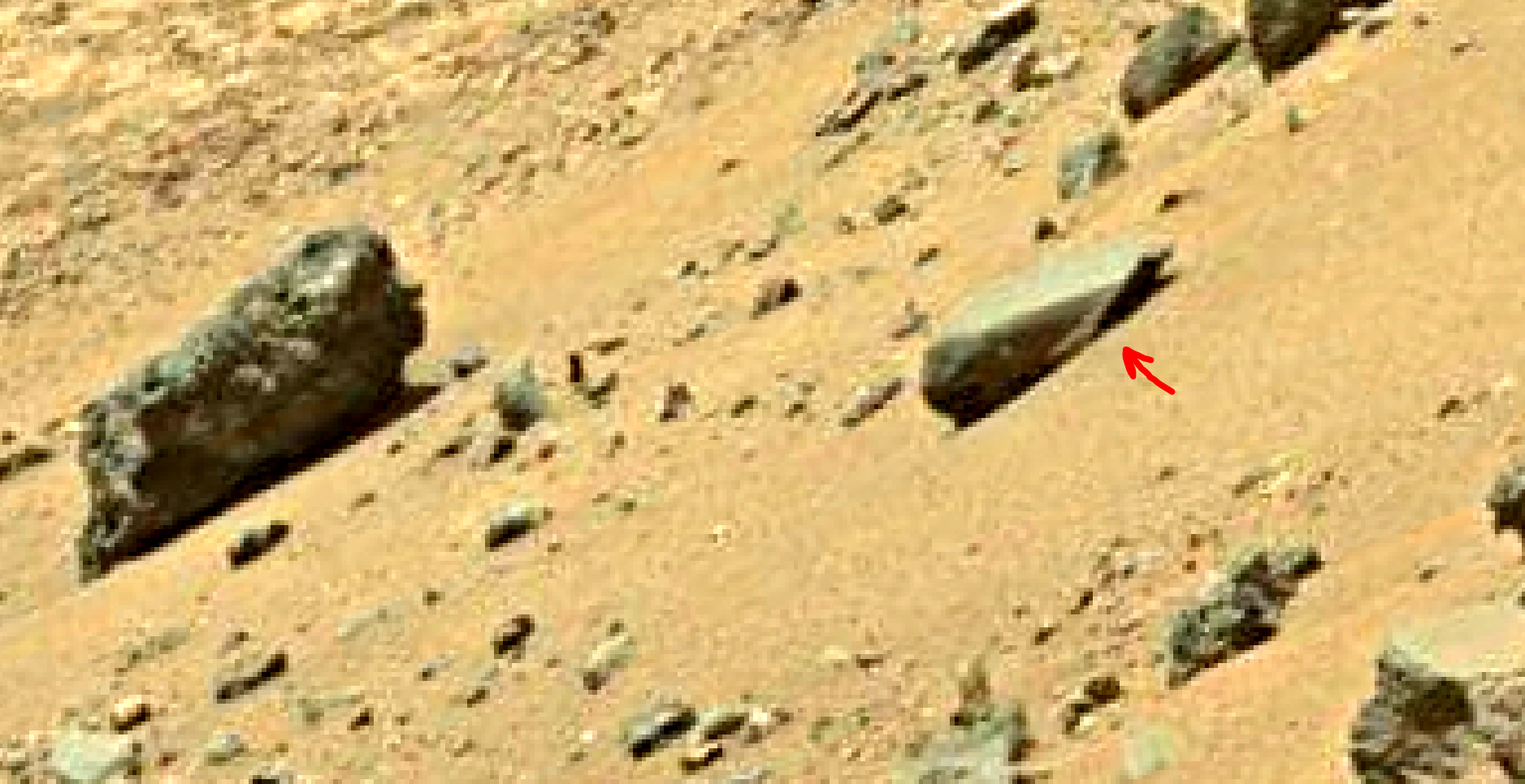mars sol 1401 anomaly artifacts 9 was life on mars