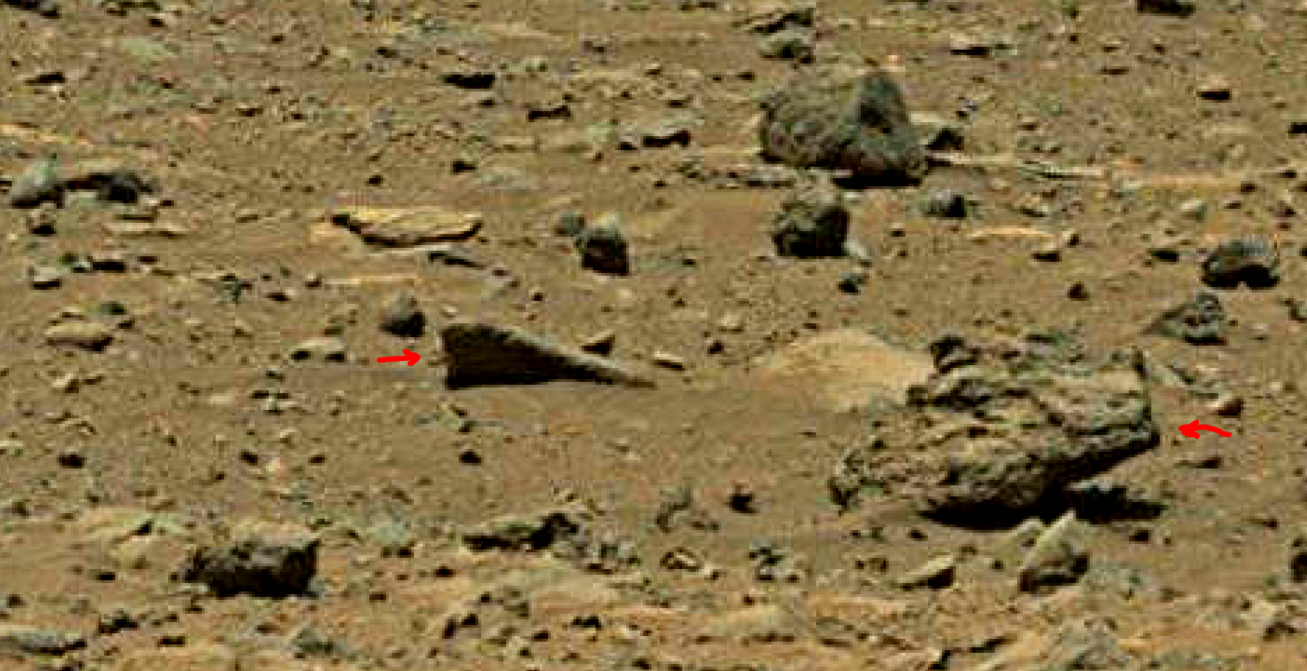 mars sol 1402 anomaly artifacts 1 was life on mars