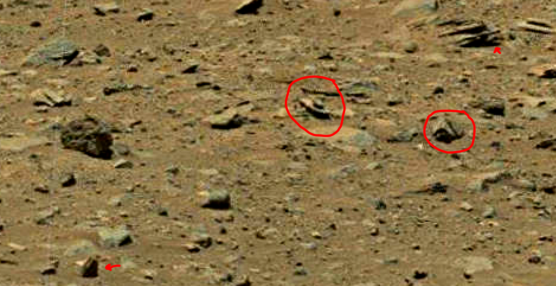 mars sol 1402 anomaly artifacts 2 was life on mars