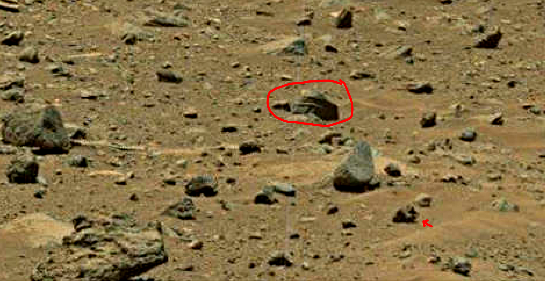 mars sol 1402 anomaly artifacts 3 was life on mars