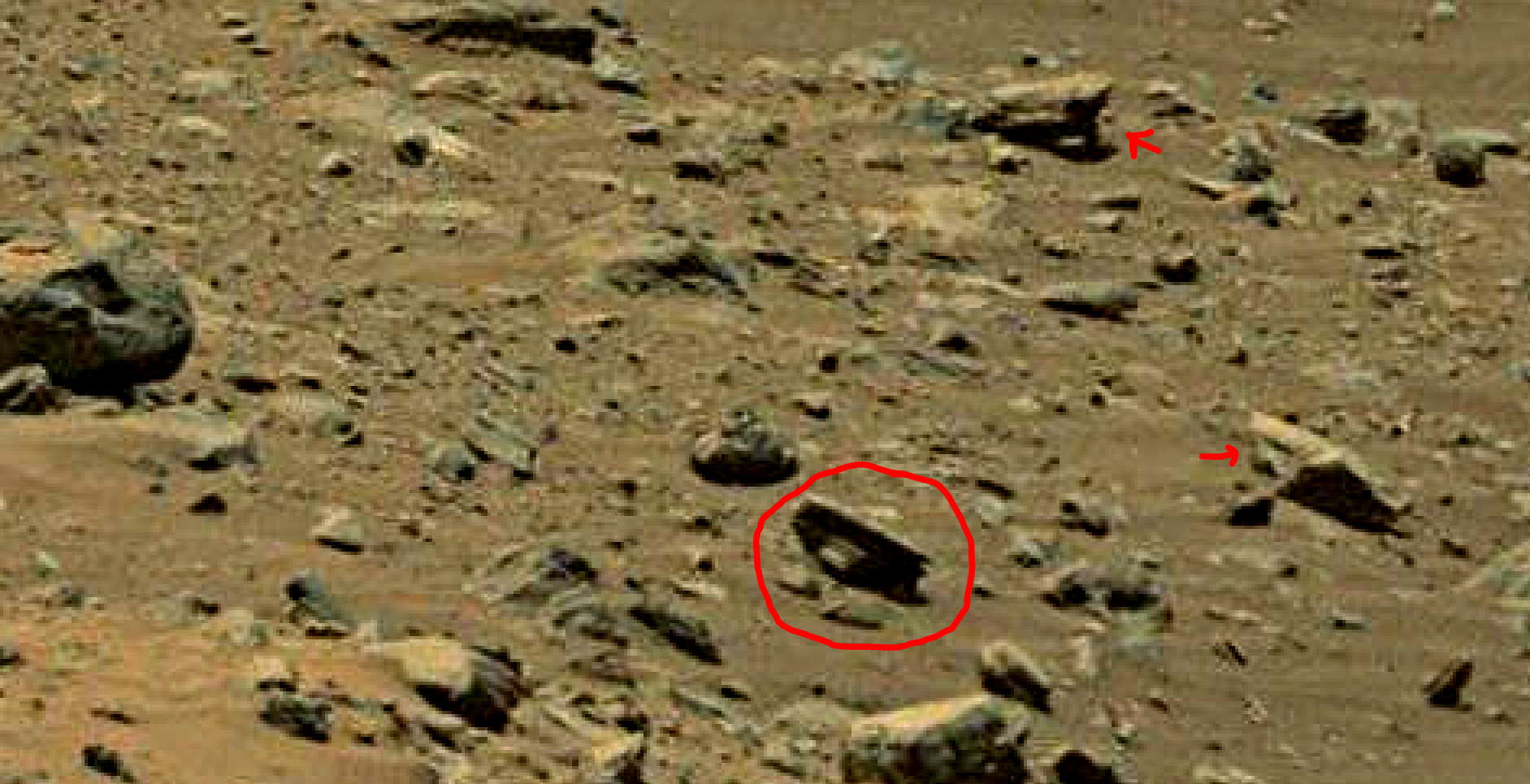 mars sol 1402 anomaly artifacts 5 was life on mars