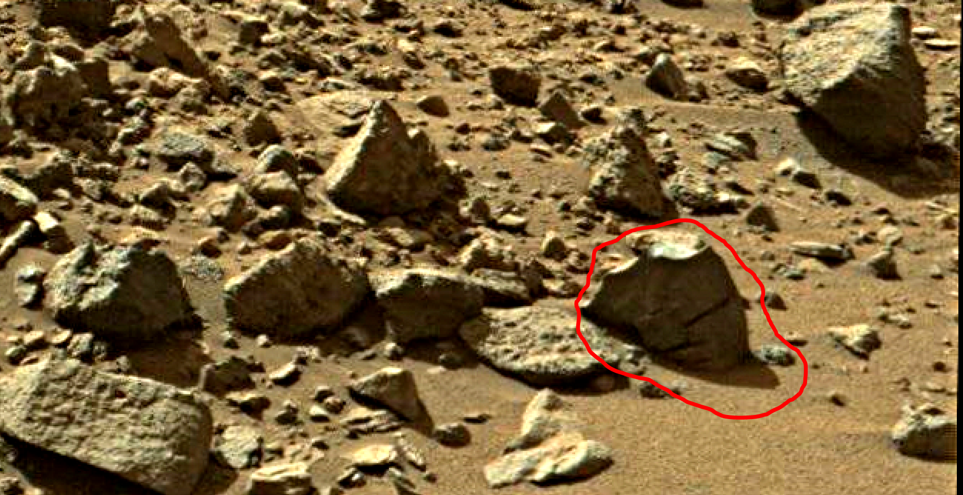 mars sol 1405 anomaly artifacts 13 was life on mars