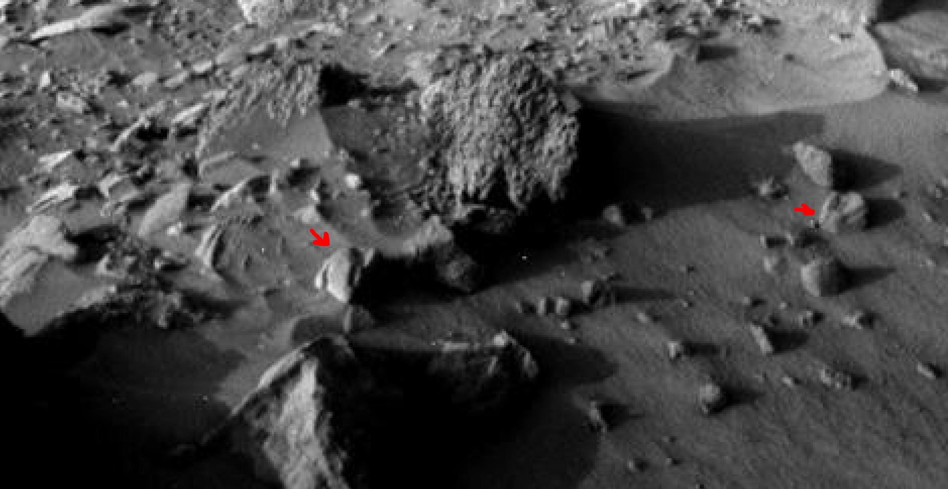 mars sol 1405 anomaly artifacts 17a was life on mars