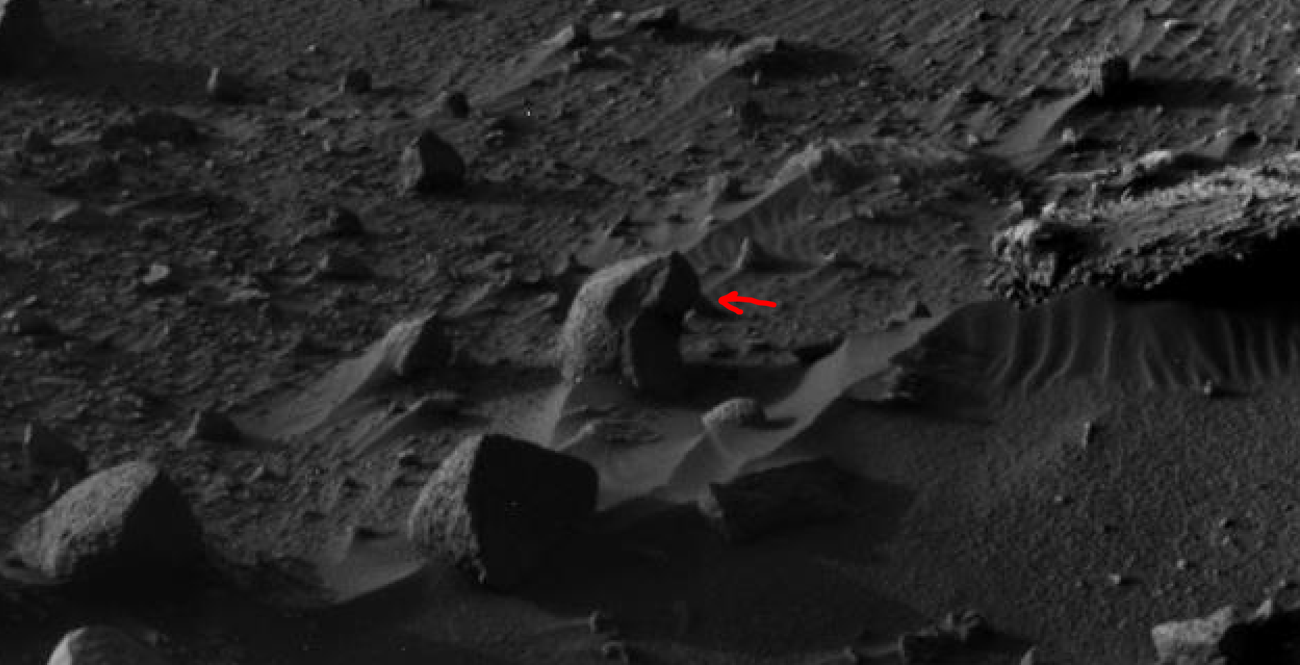 mars sol 1405 anomaly artifacts 19 was life on mars