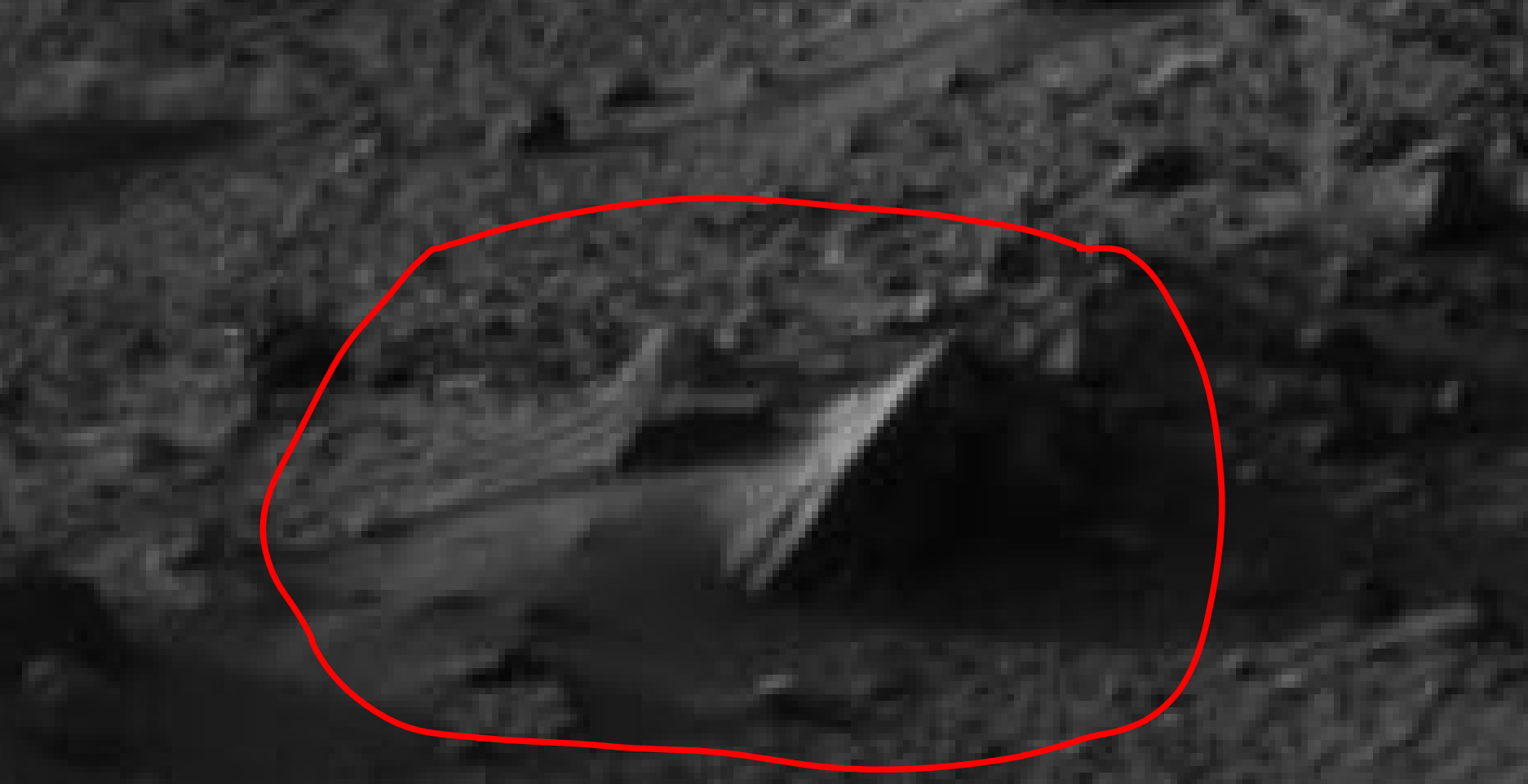 mars sol 1405 anomaly artifacts 21 was life on mars